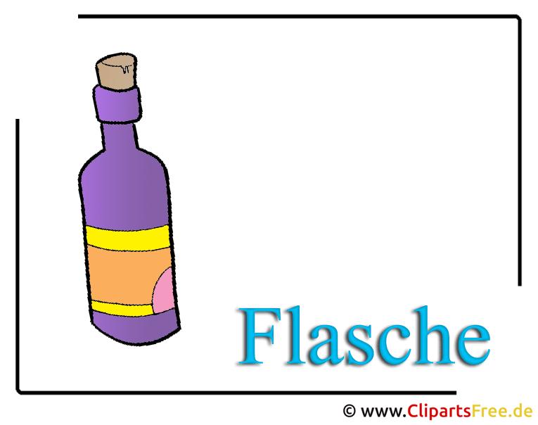 Flasche Clipart Bild free