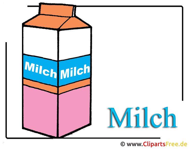 Milch Clipart-Bild free