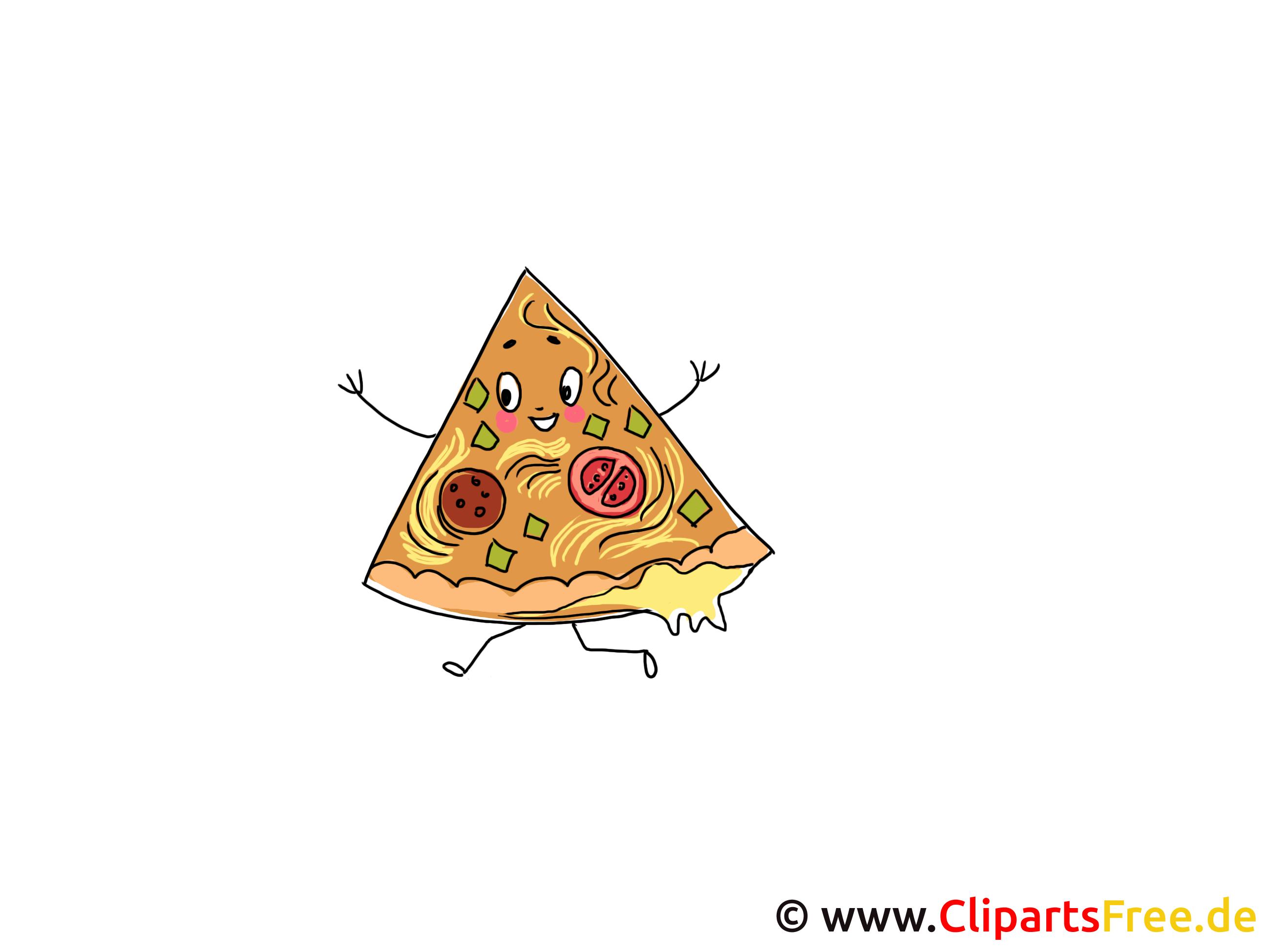 Pizzastück Clipart