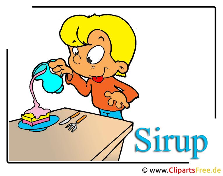 Sirup Clipart free Essen