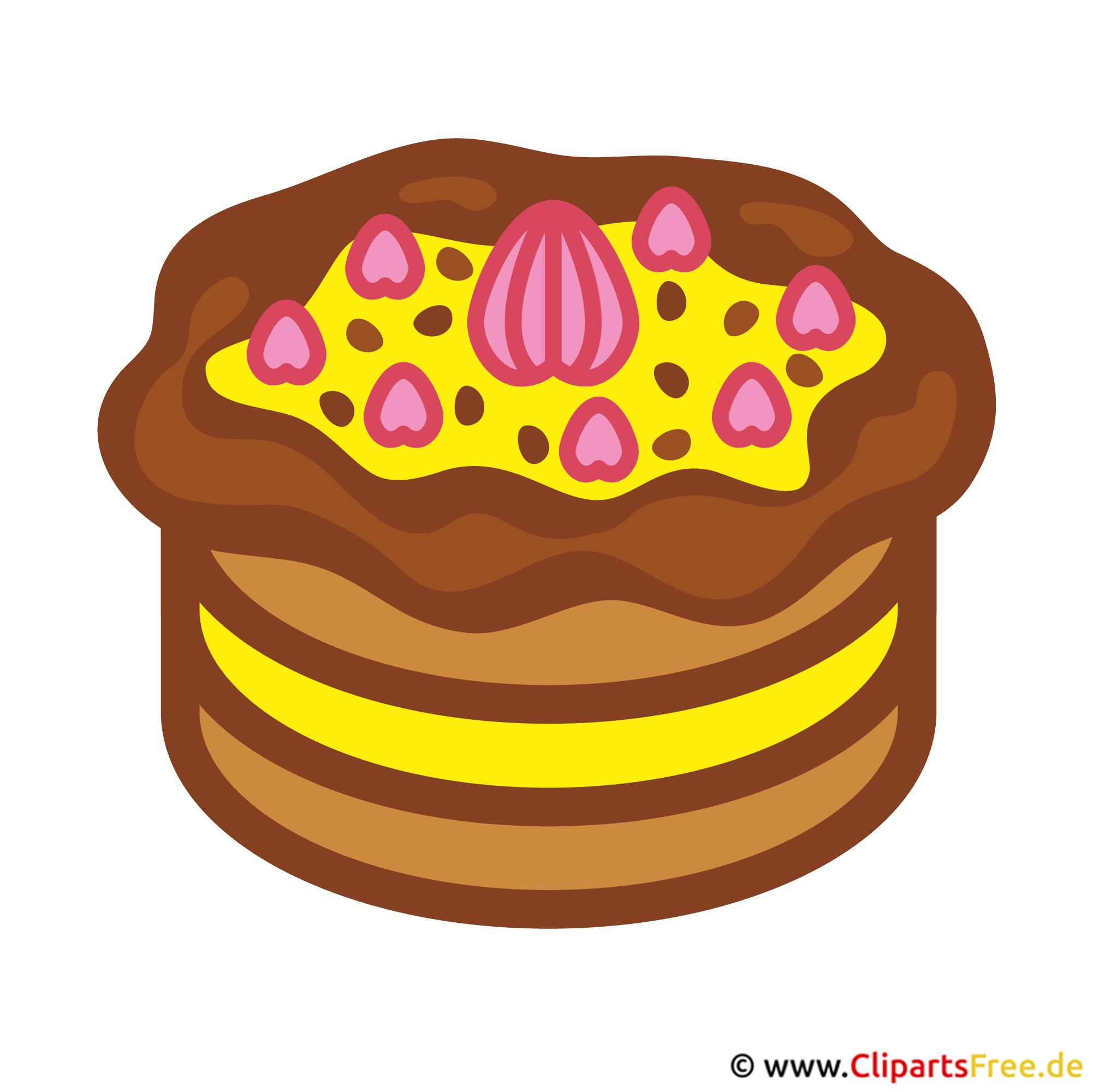 Torte Bild-Clipart gratis
