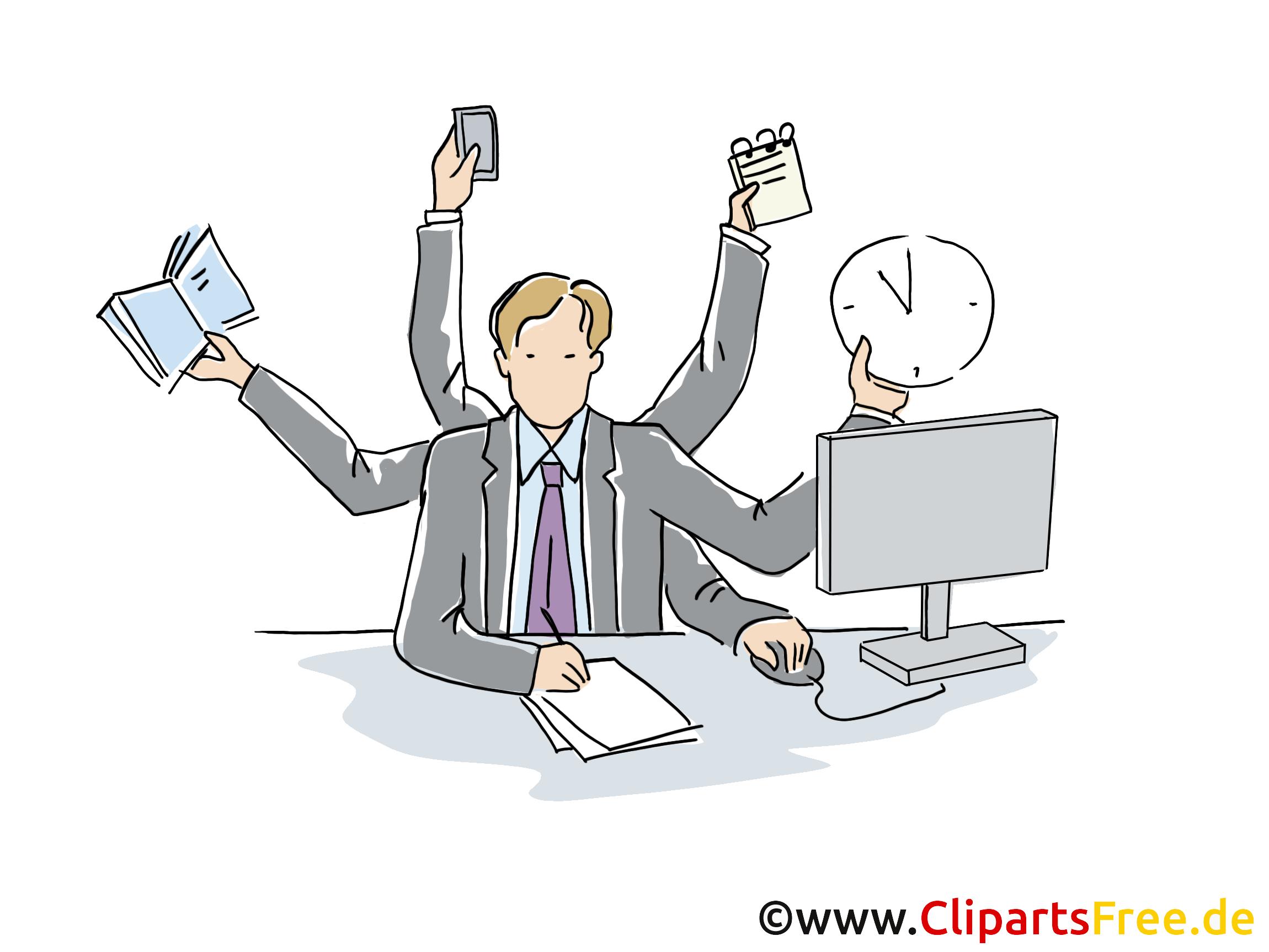 Projektmanagement Clipart, Grafik, Bild, Cartoon