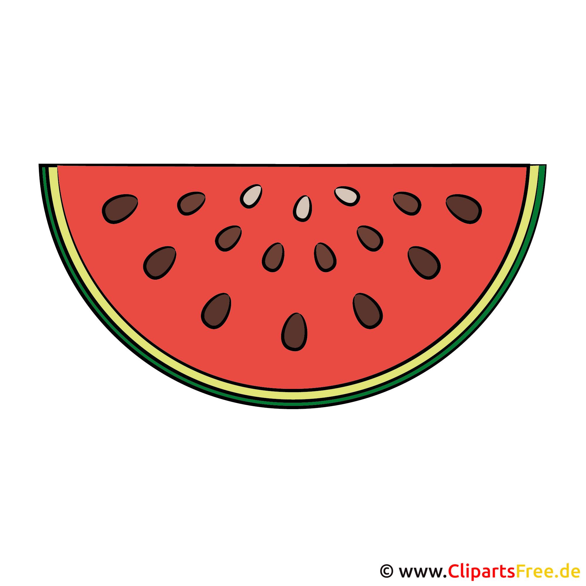 Wassermelone Bild-Clipart