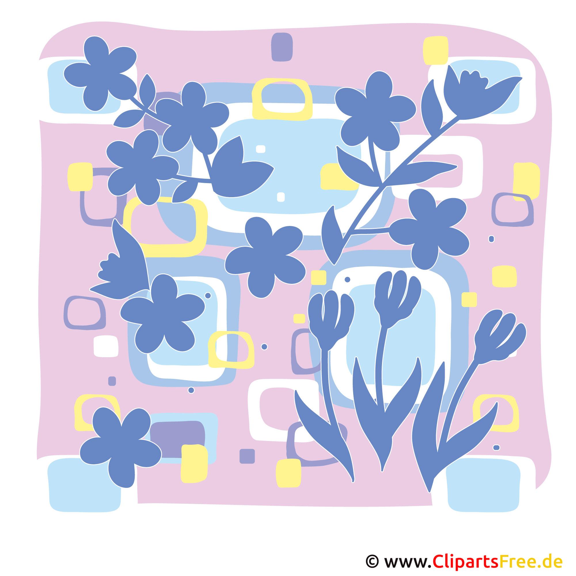 Frühling Cliparts kostenlos -  Blumen und Pflanzen