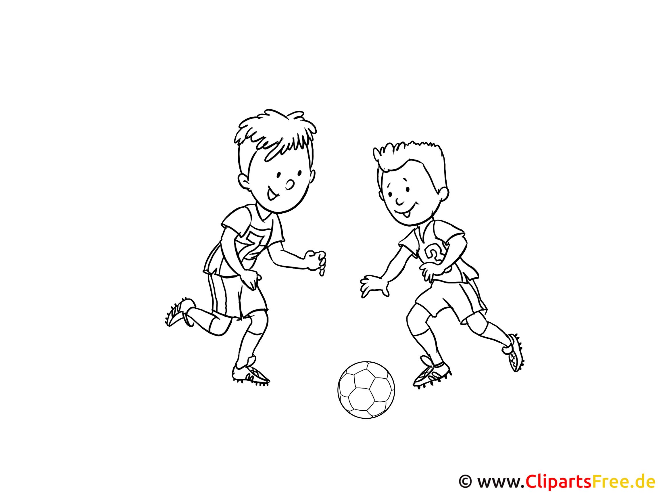 Ausmalbilder Fußball
