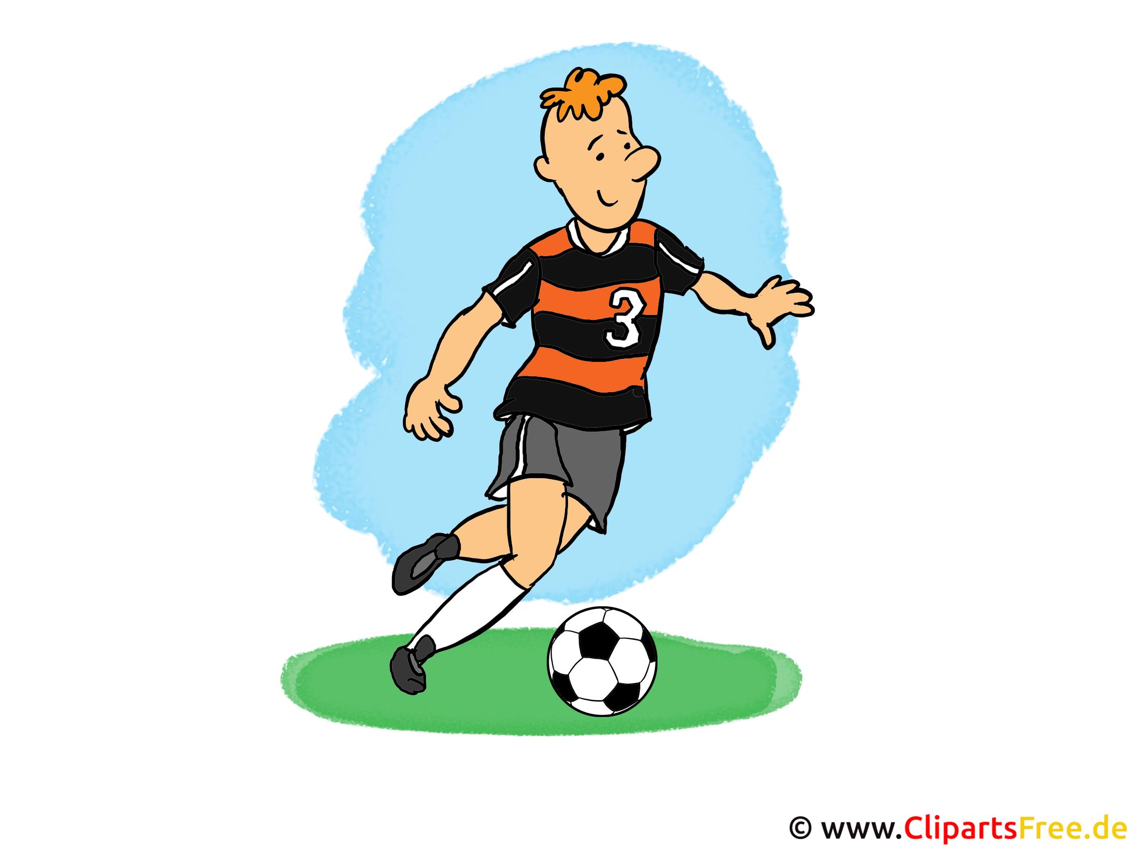 Clip Arts Fussball