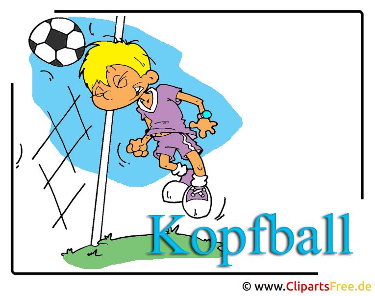 Fussball Clip Art free
