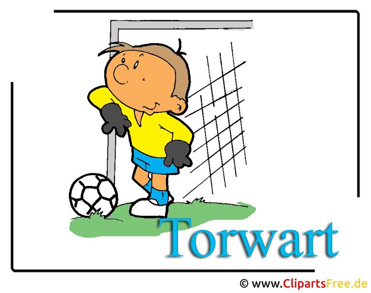 Fussball HD-Clipart-Bild Torwart