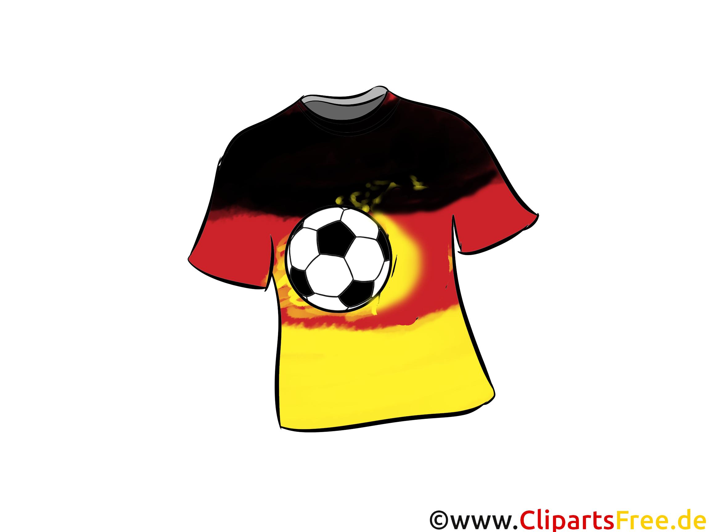 fußball trikot bild clipart grafik