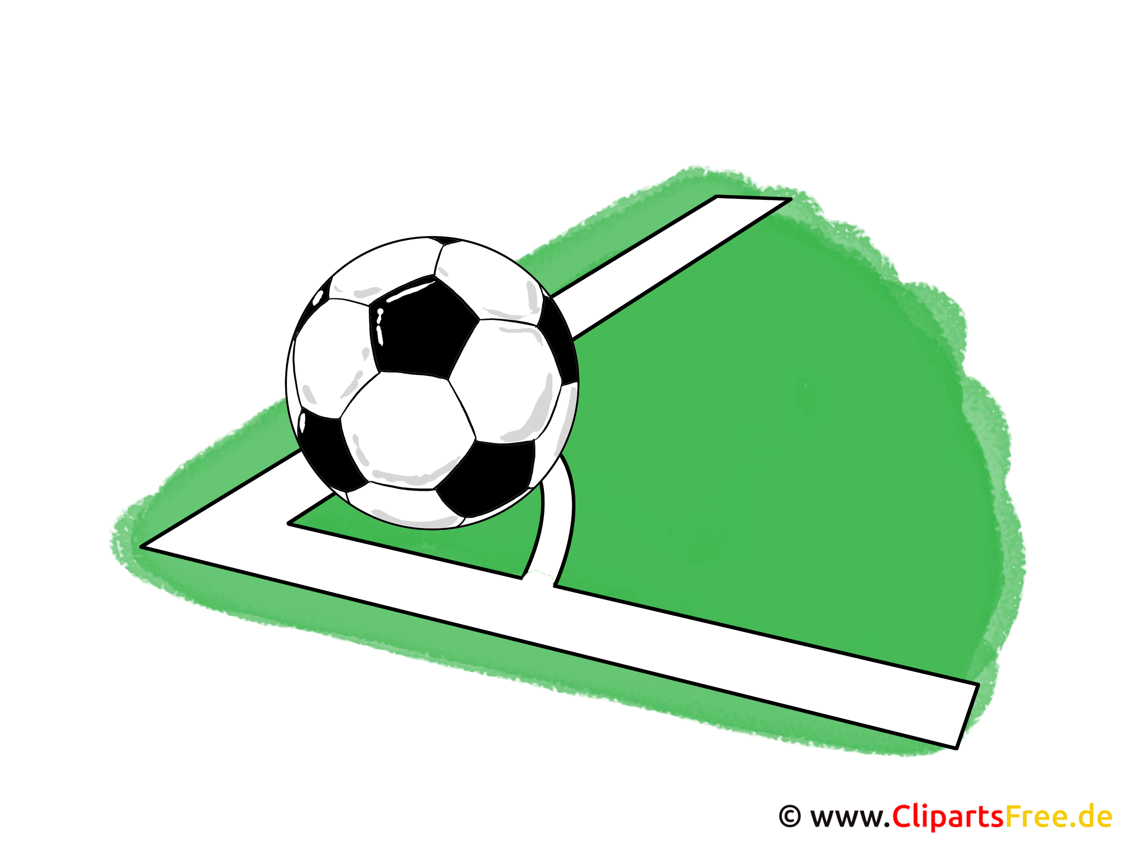 Grafik Clipart Ball Ecke
