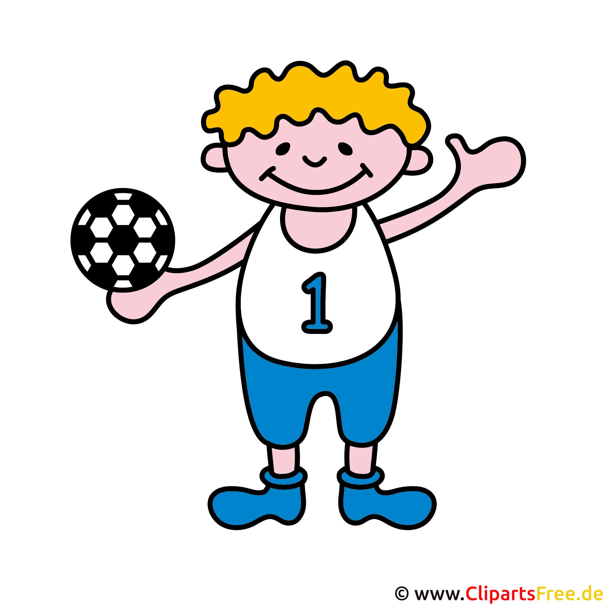 Handball Clipart - Sport Cliparts kostenlos