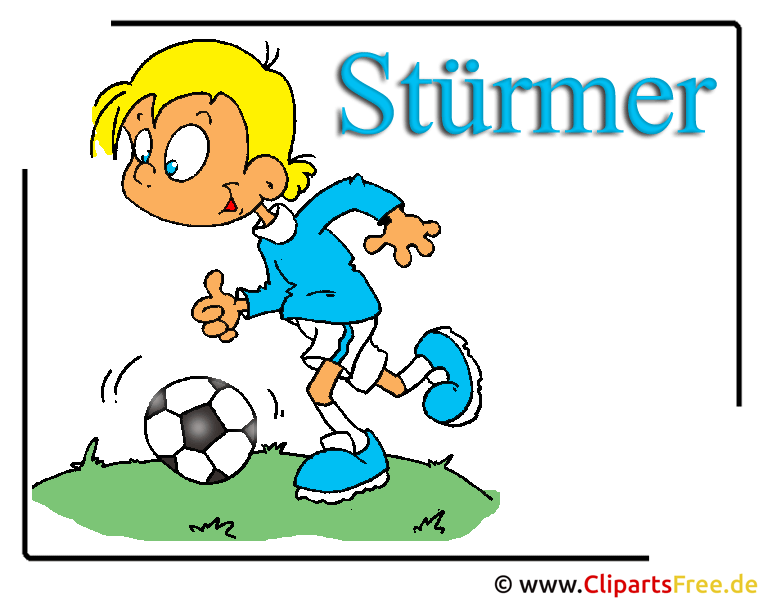 Stürmer Bild Clipart free