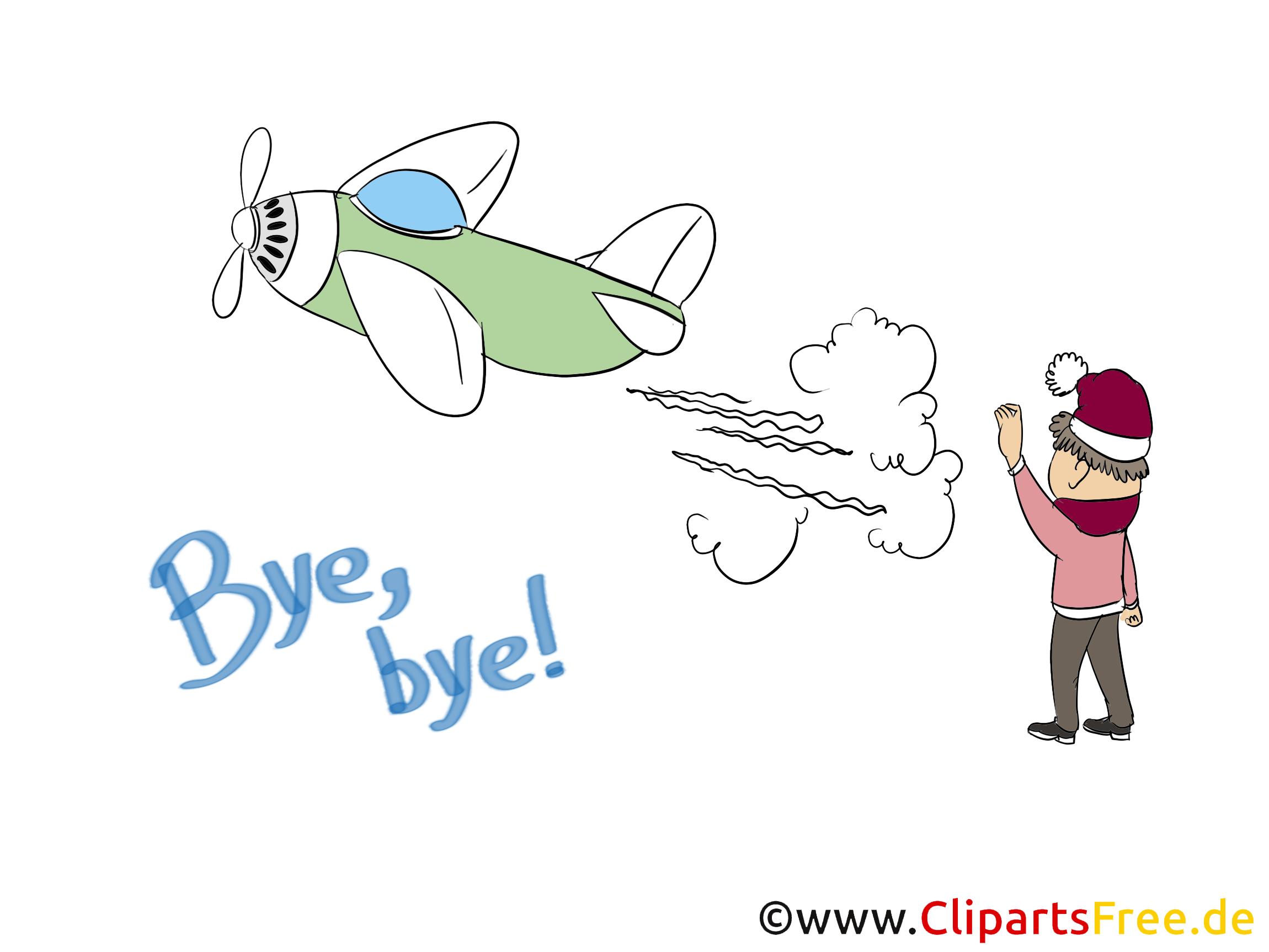 Abschied Clipart - Lizenzfrei - GoGraph