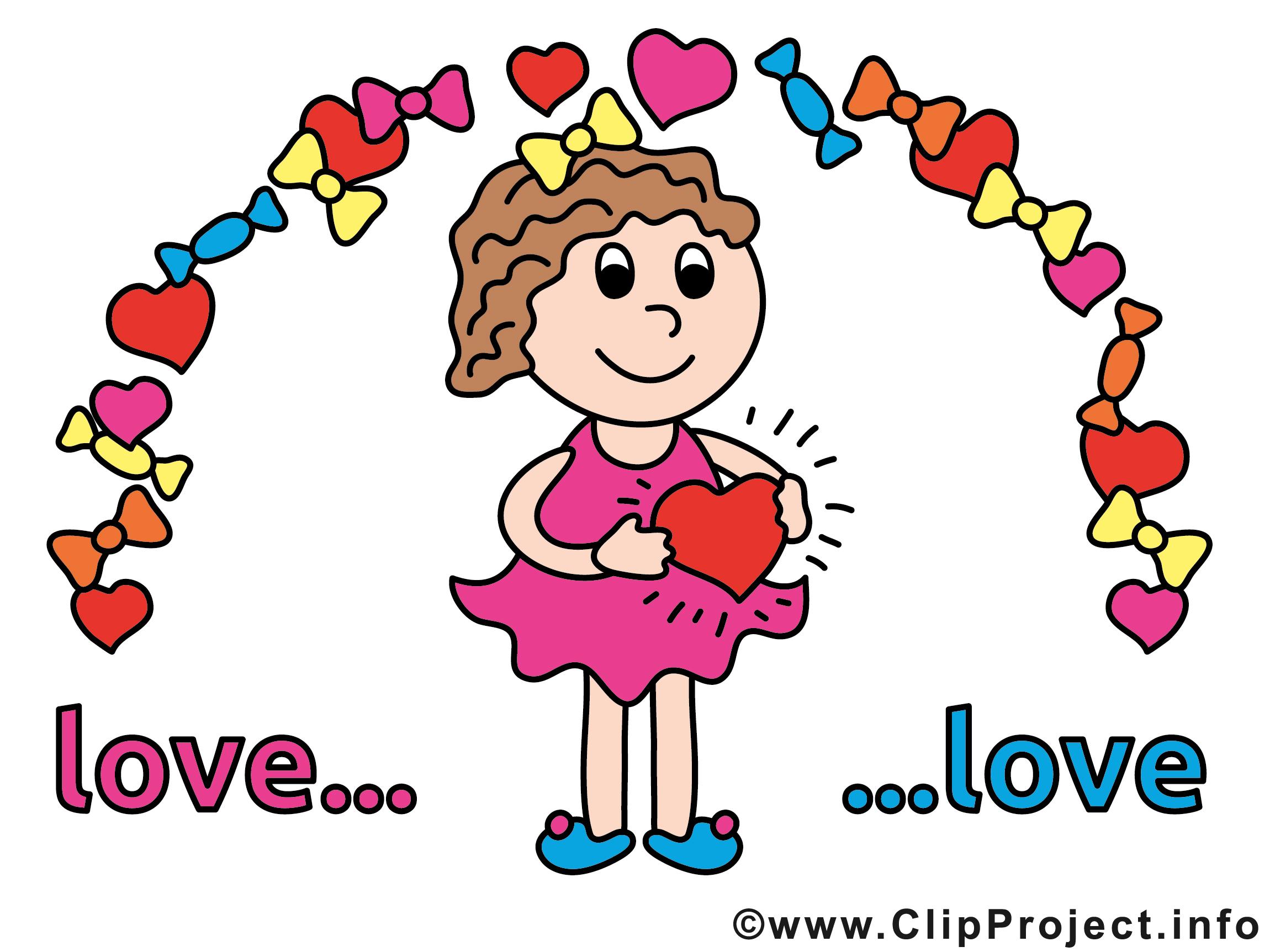 Verliebt Cartoon