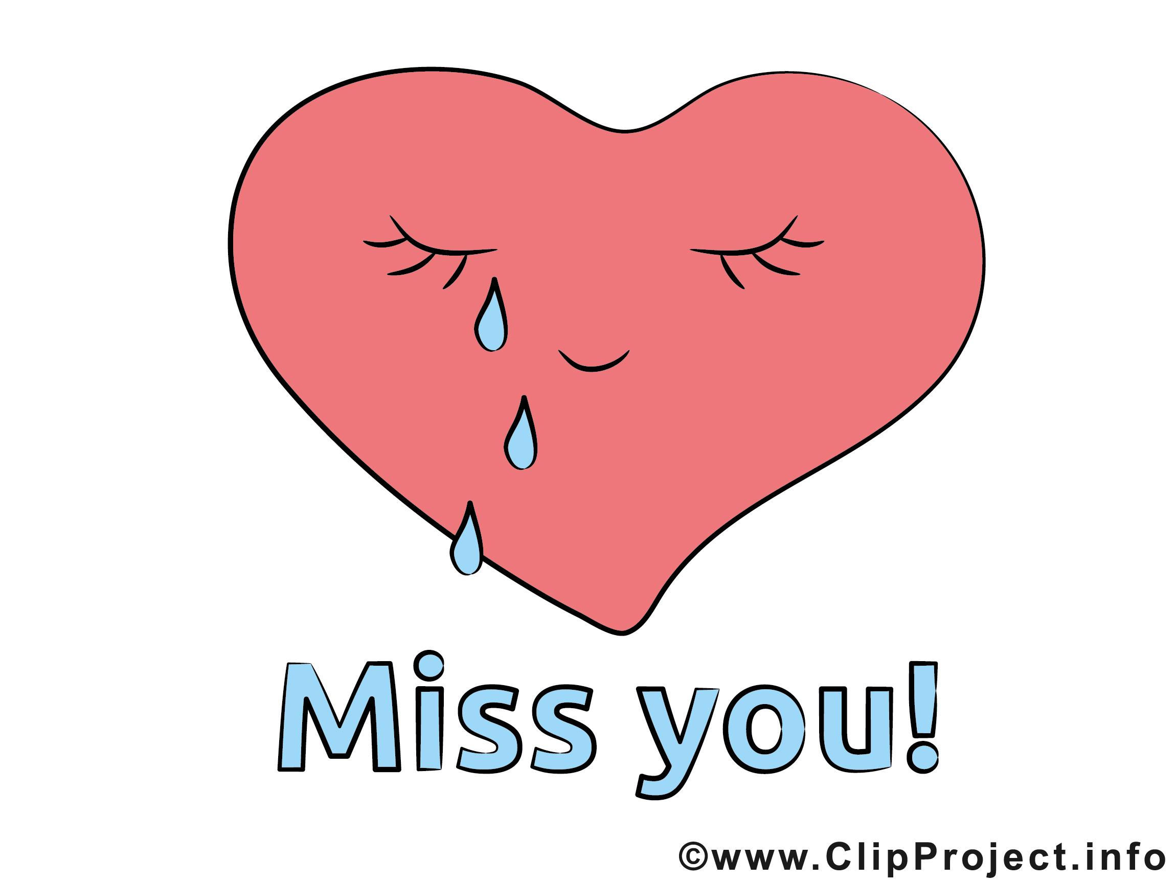 Herzbild Miss you