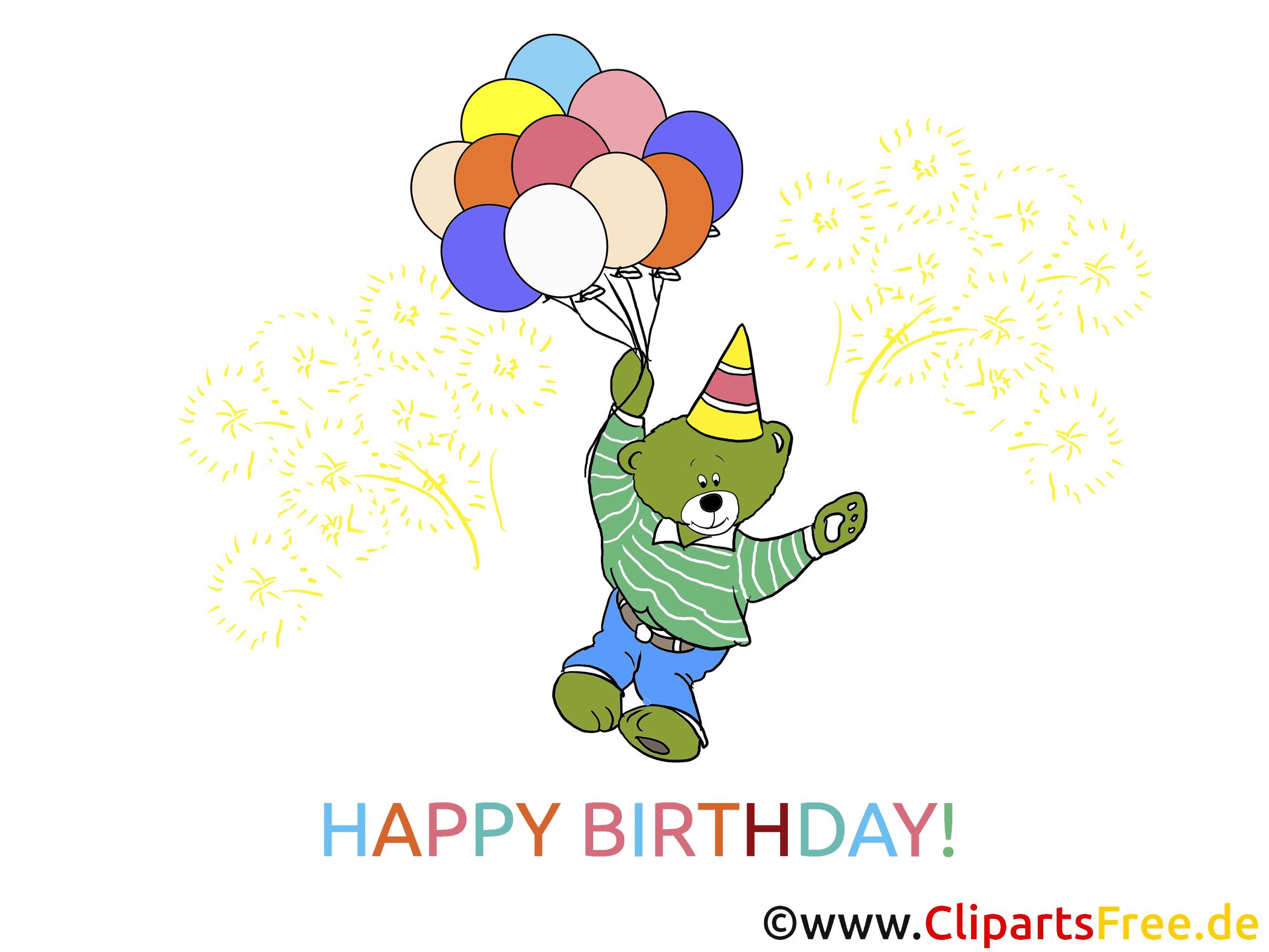 Bilder Geburtstagseinladung gratis herunterladen und drucken in Hochqualität