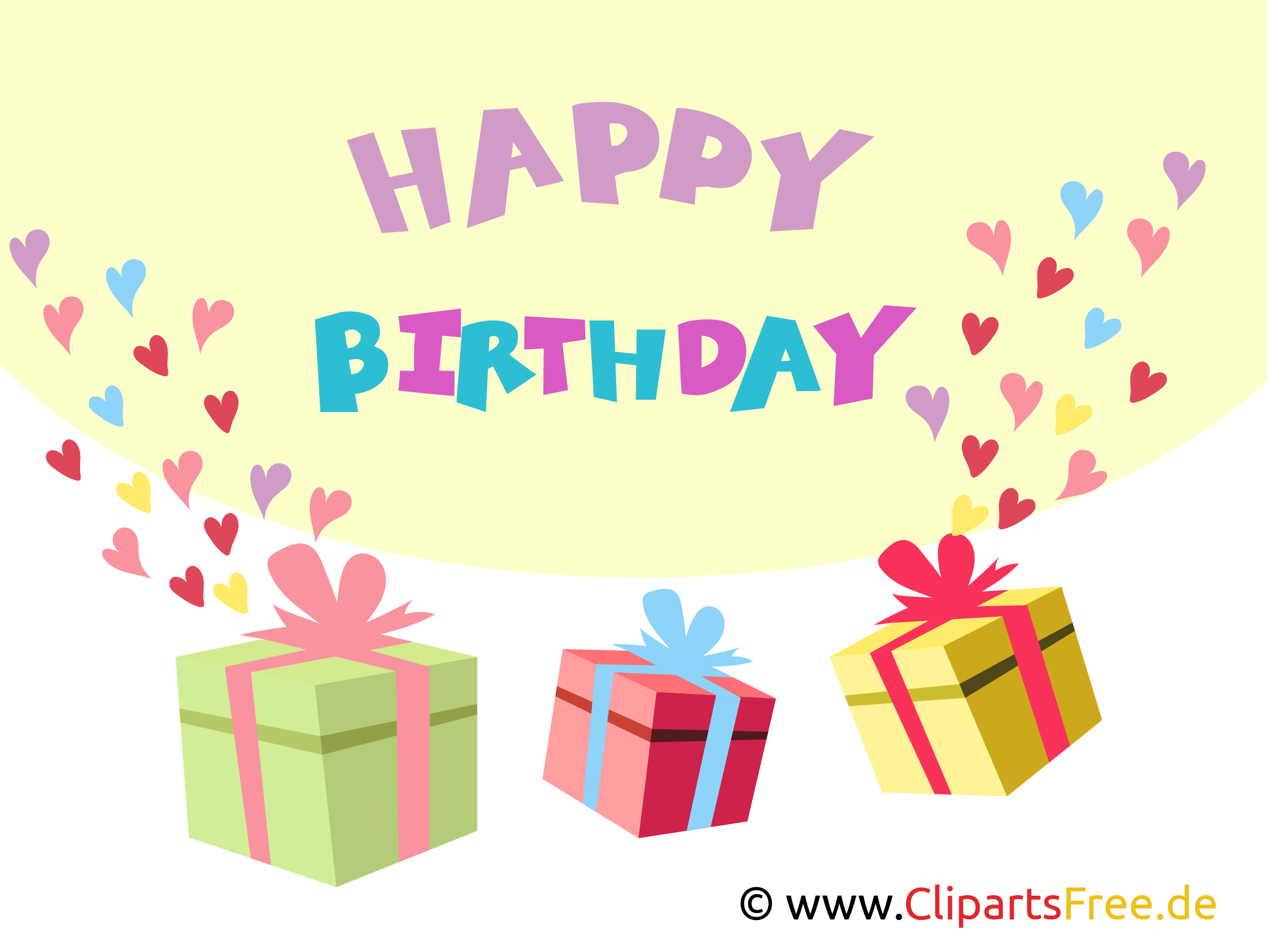 Clip Art Happy Birthday