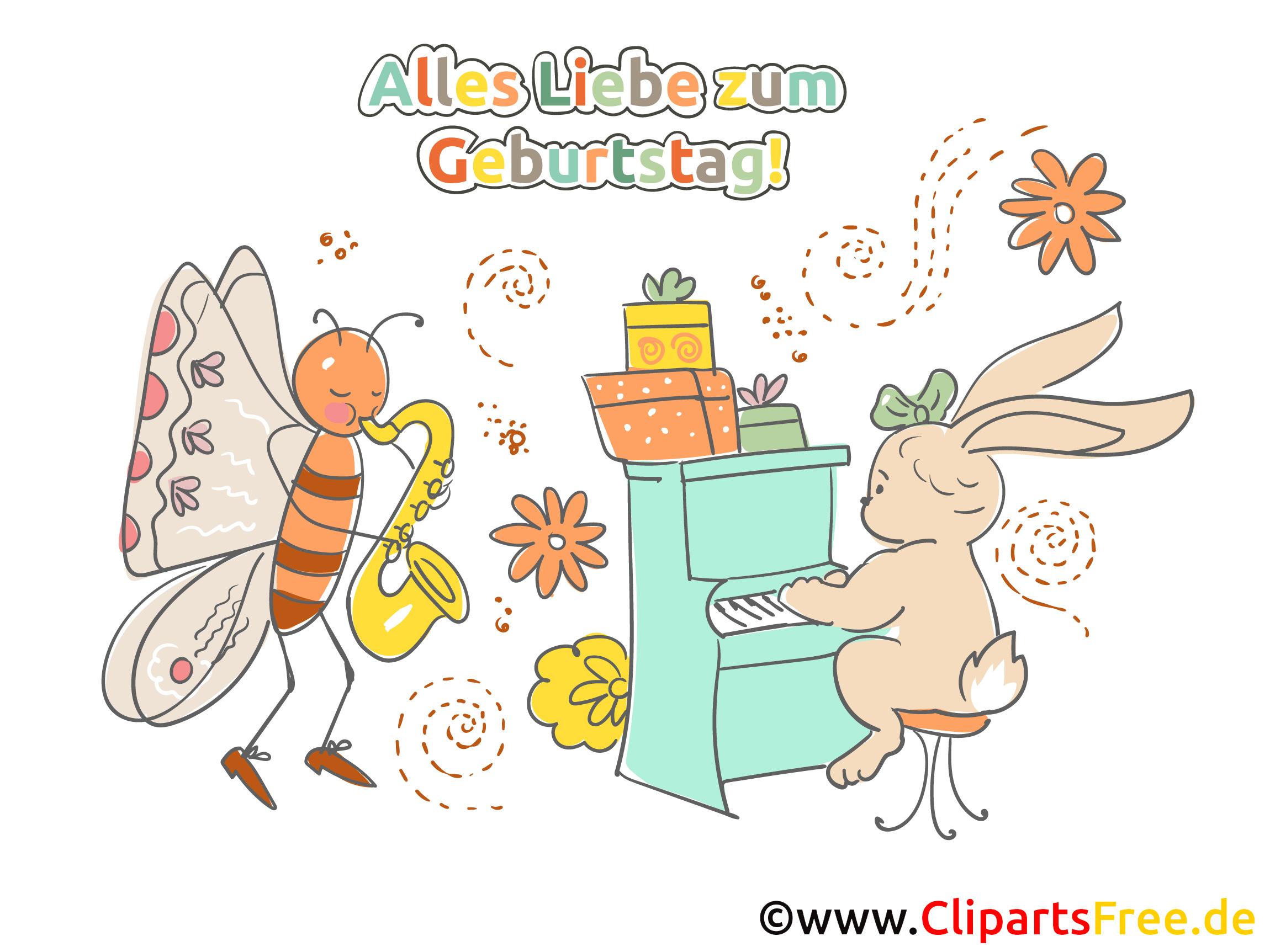 Clipart Alles Gute zum Geburtstag