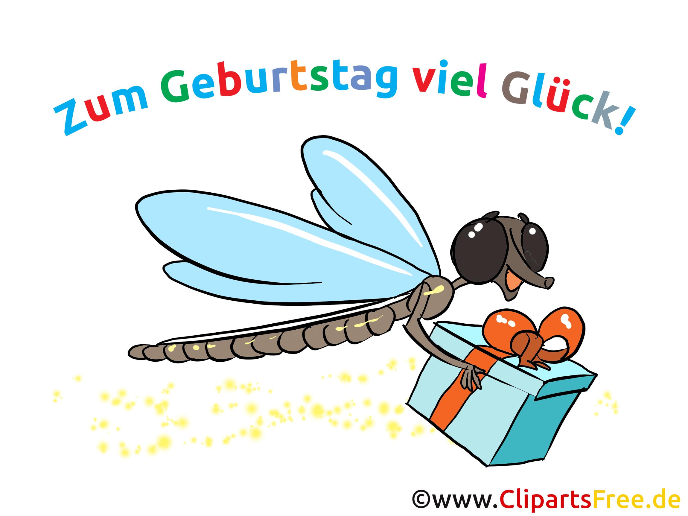 Cliparts Geburtstag lustig