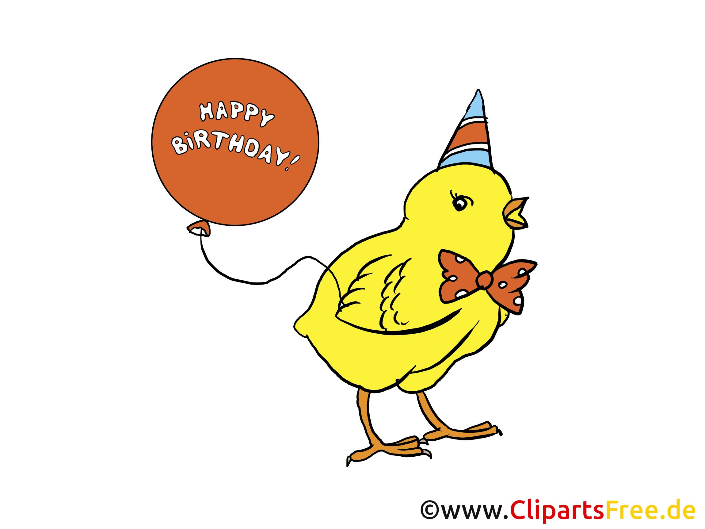 Geburtstag Comic lustig