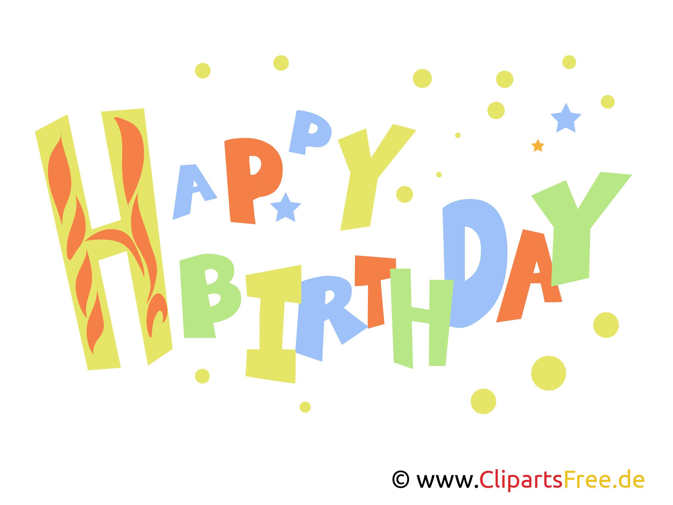 Geburtstagsbilder, Geburtstagskarten und Geburtstagswünsche