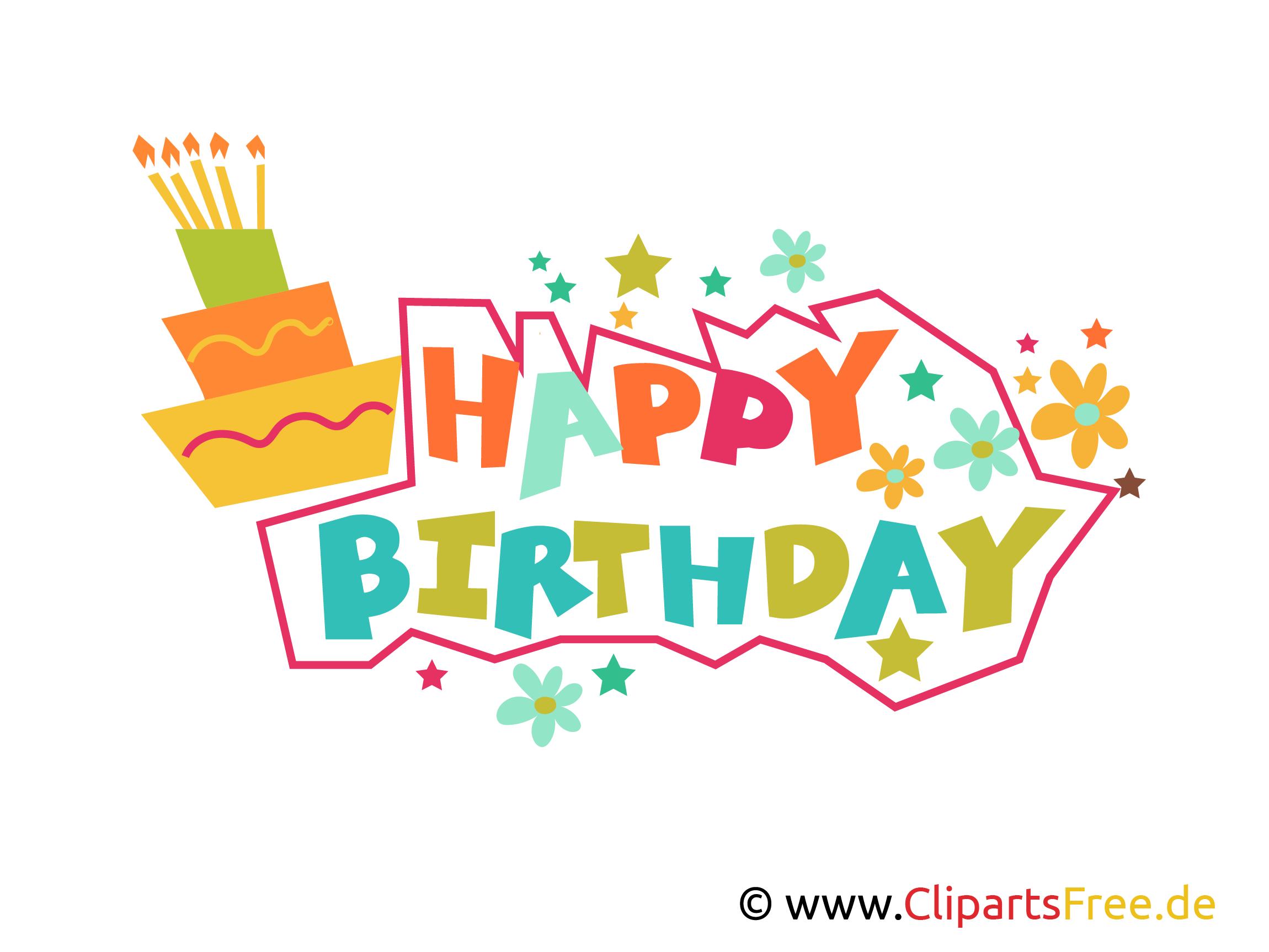 Happy Birthday Buchstaben kostenlos zum Drucken