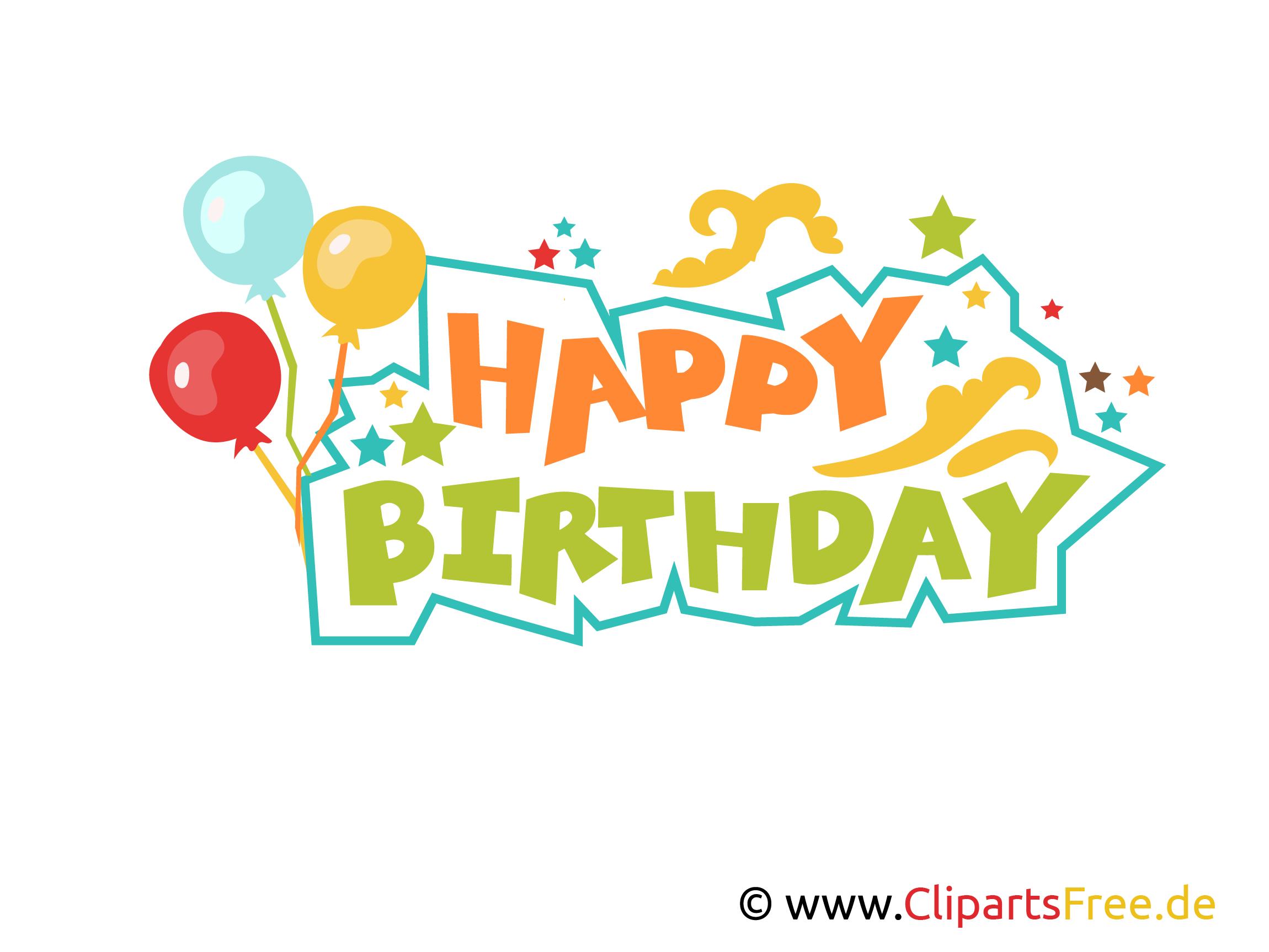 Happy Birthday Buchstaben Zum Drucken Clipart Vorlage