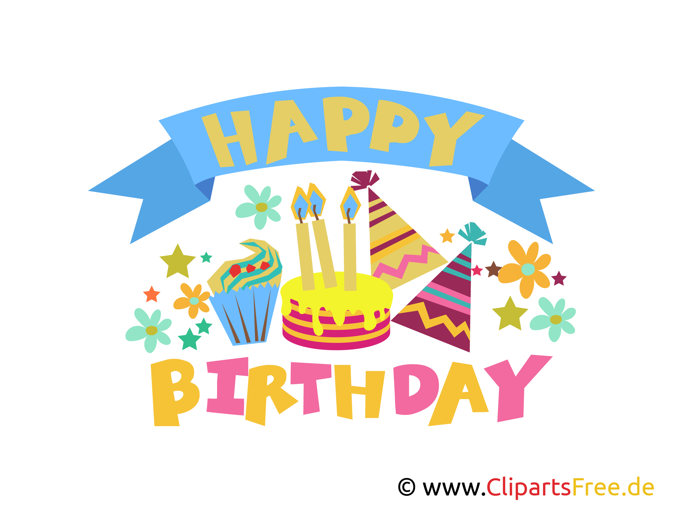 Happy Clipart, Grafik, E-Karte, Bild kostenlos herunterladen