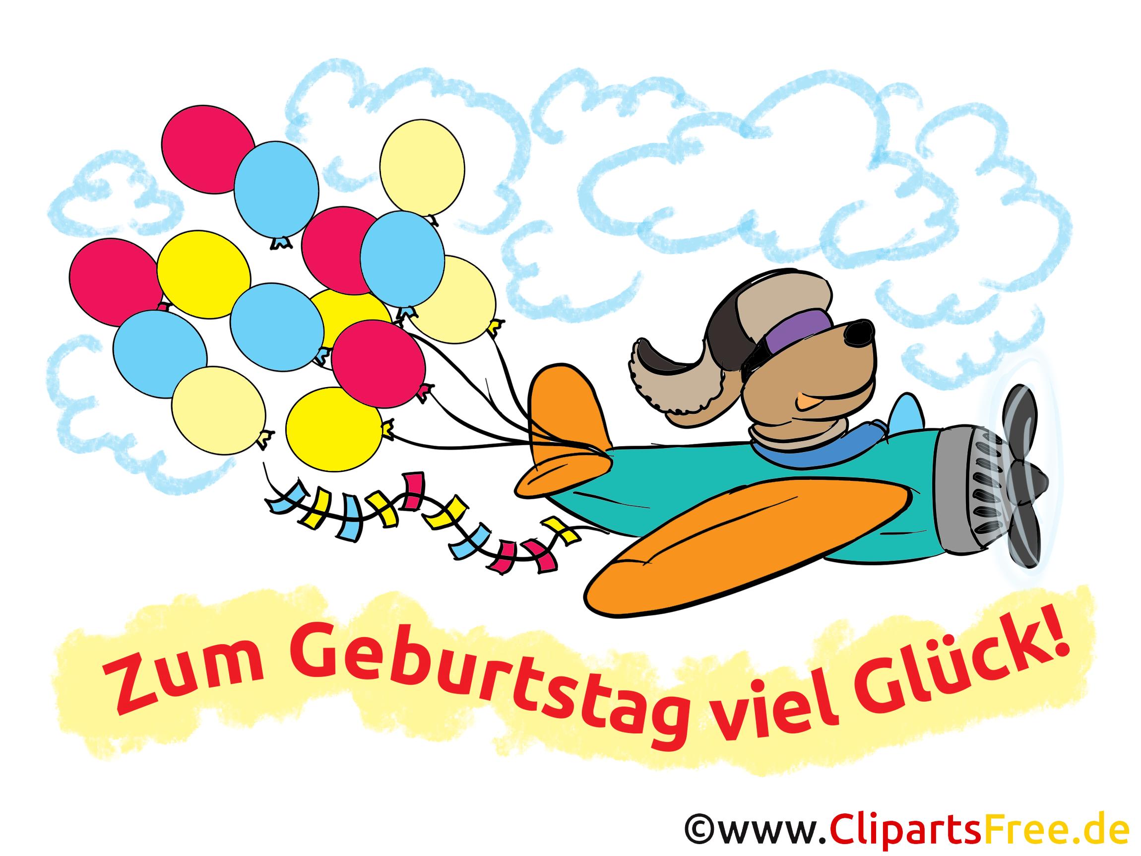 Lustige Geburtstagswünsche Als Cliparts Karten Bilder