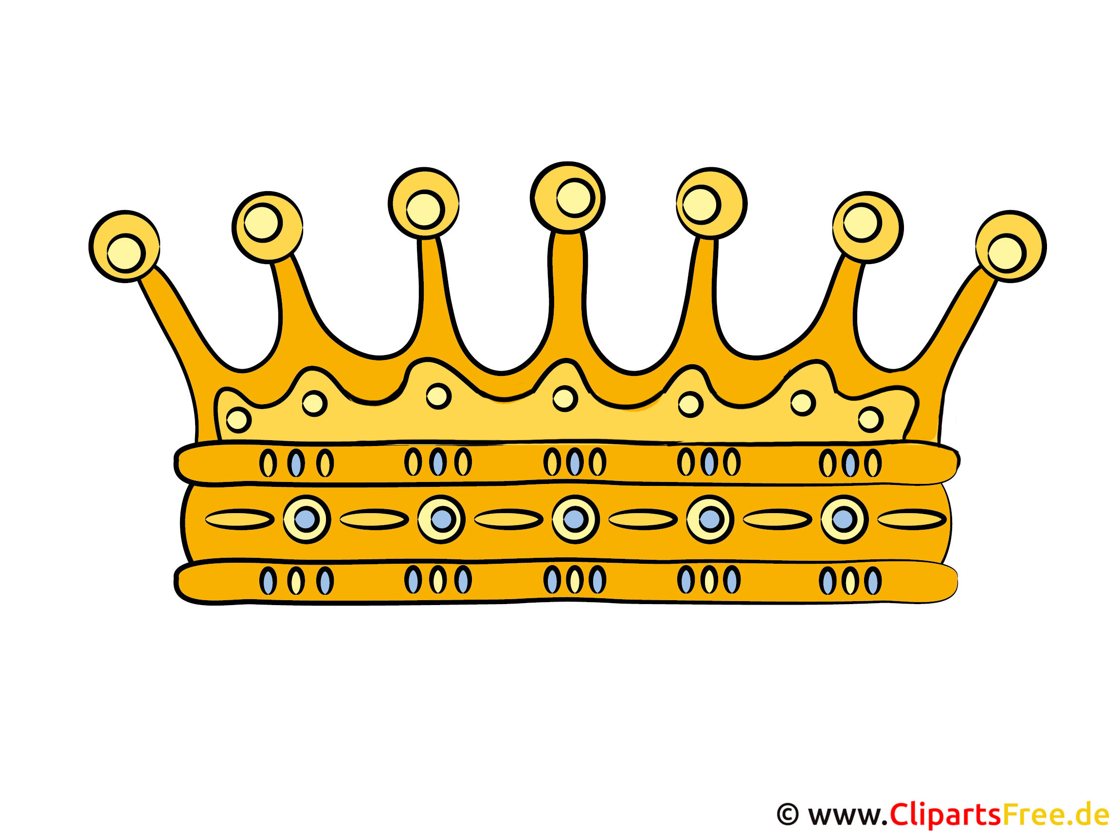 clipart krone kostenlos
