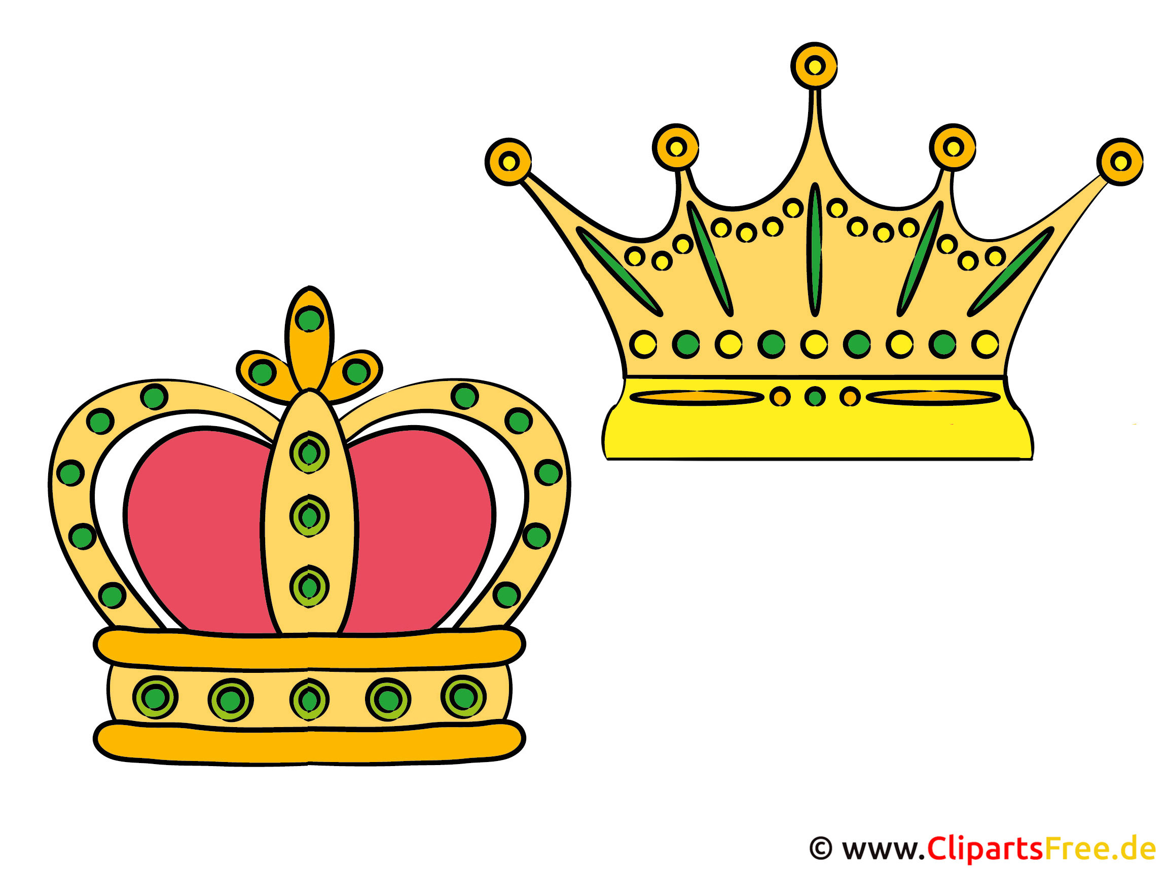 Kronen Cliparts