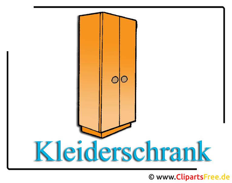 schrank clipart free. Black Bedroom Furniture Sets. Home Design Ideas
