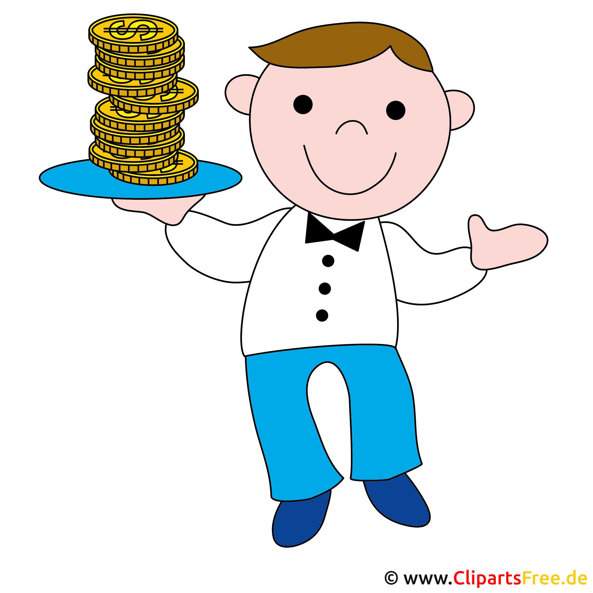 Banker Clipart kostenlos