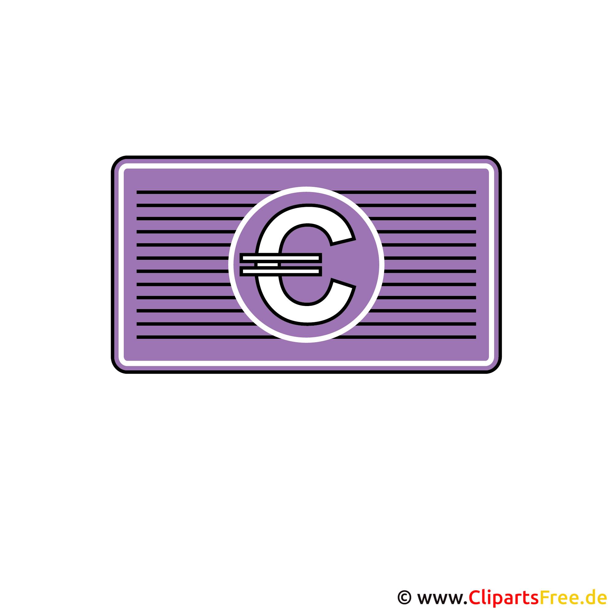 Bild - Clipart Geld