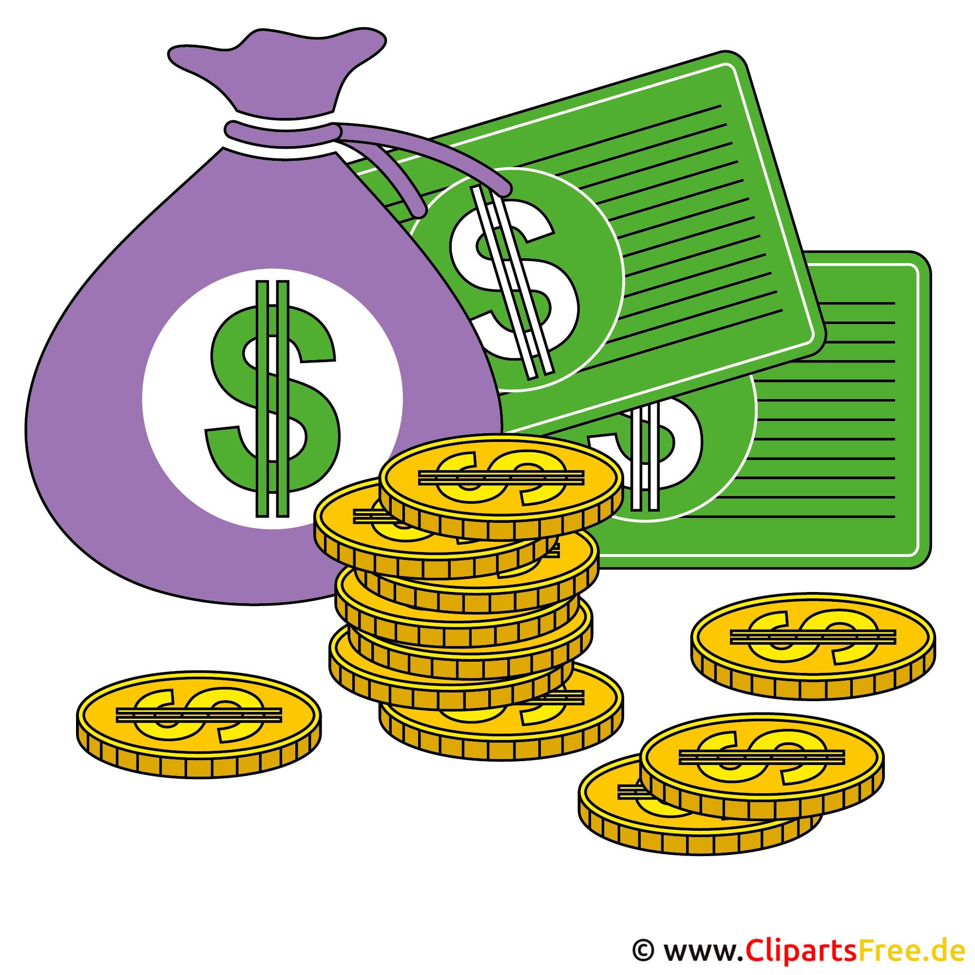 Clipart lizenzfrei kostenlos Geld und Finanzen