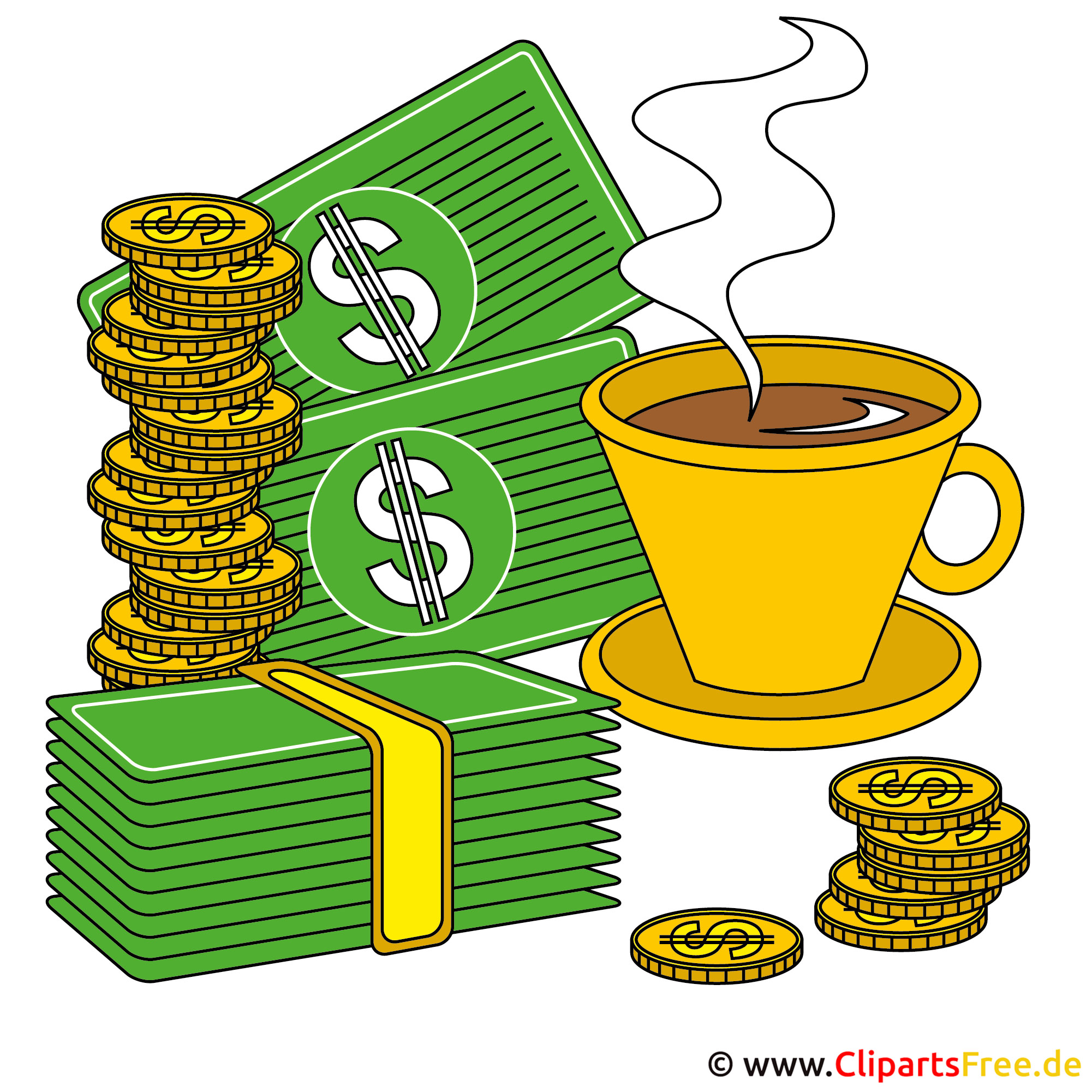 Kaffeepause clipart for Graphics clipart