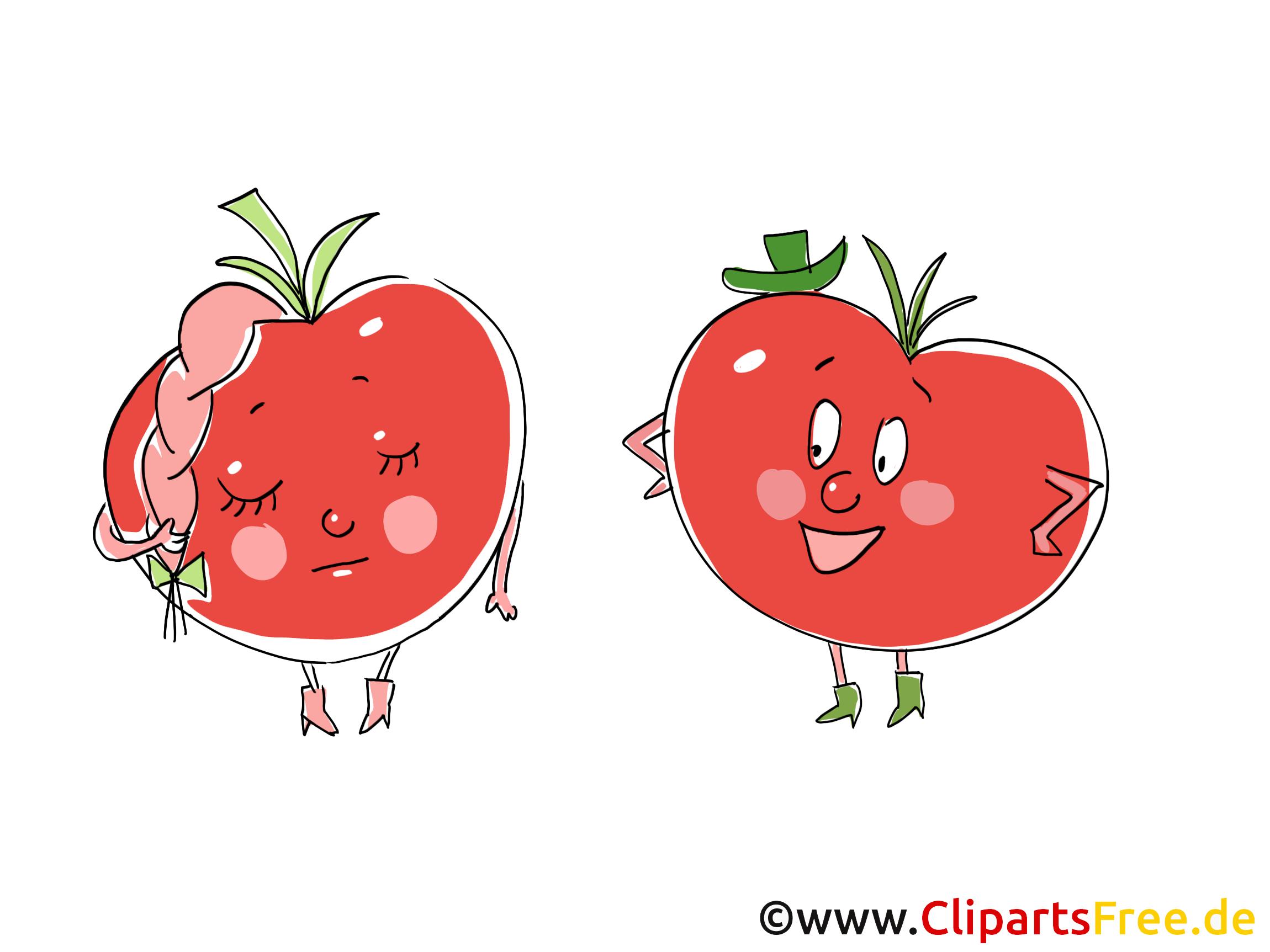 Gemüse cartoon