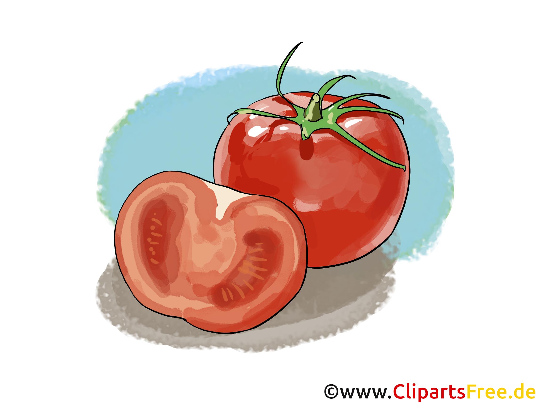 tomaten clipart bild illustration. Black Bedroom Furniture Sets. Home Design Ideas