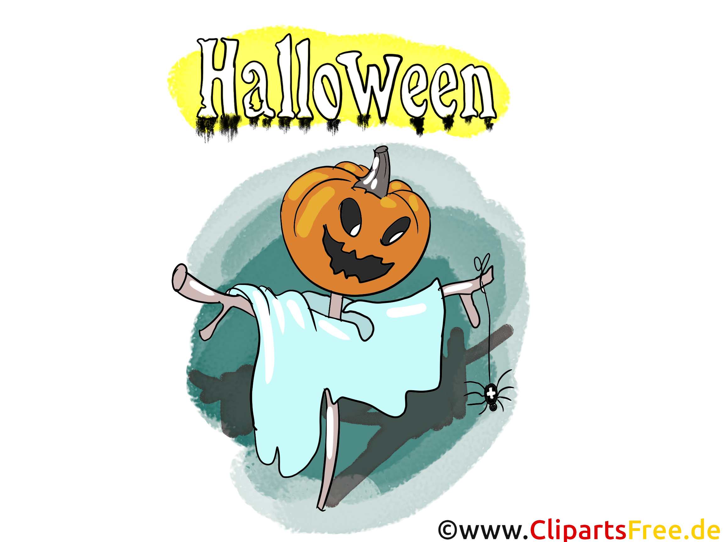 Halloween Karte - Illustrationen, Bilder, Grafiken, Cliparts, Comics, Cartoons