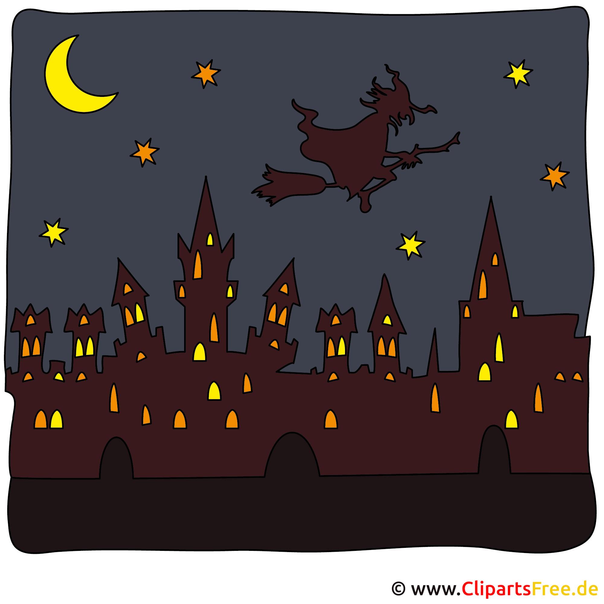 Hexe Bilder zu Halloween