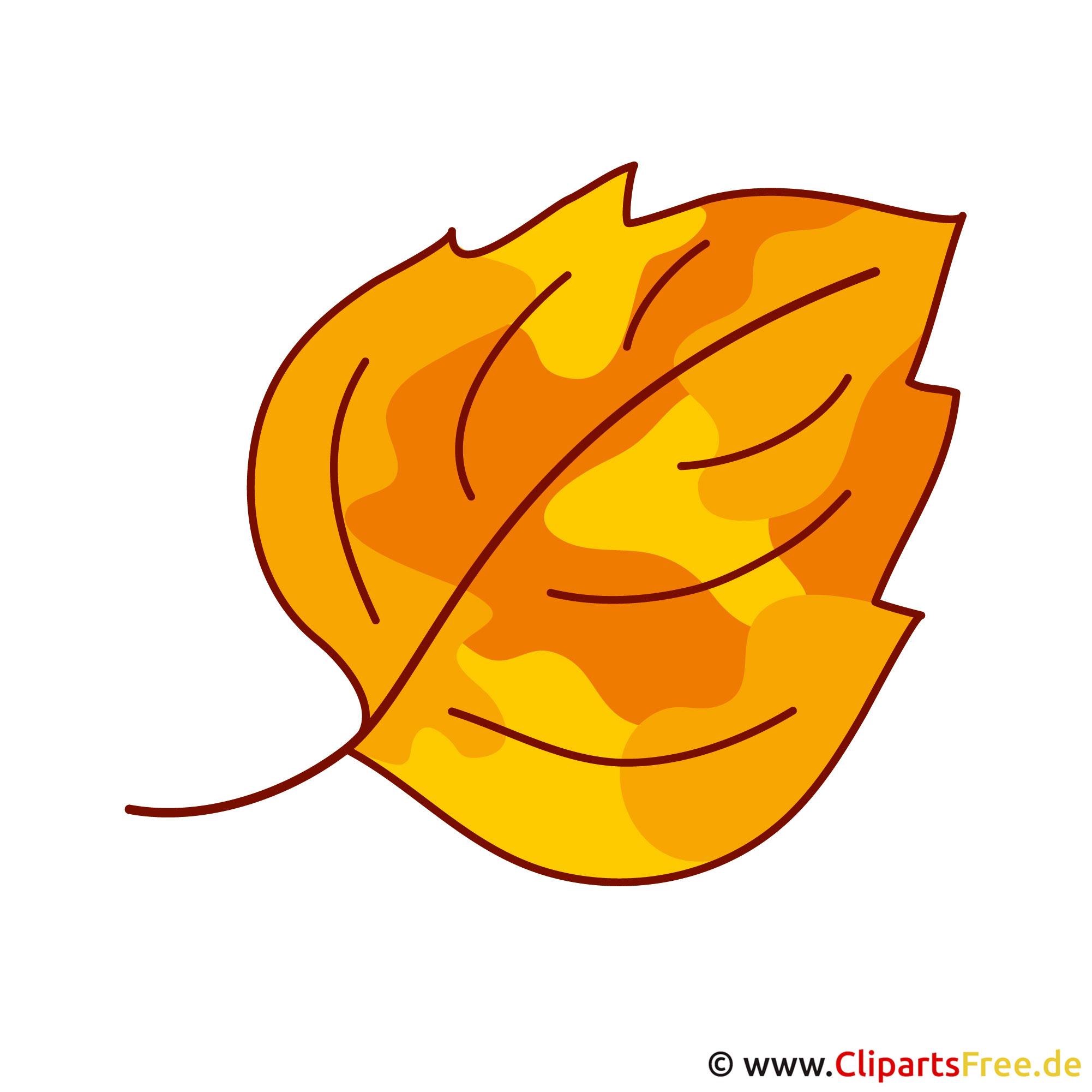 Blatt Clipart - Herbst Bilder gratis