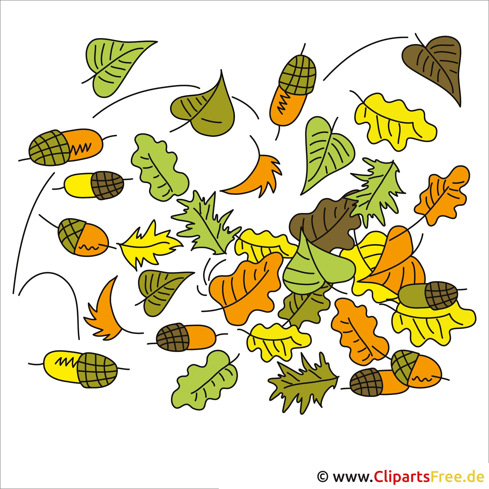 Clip-Art Herbst gratis