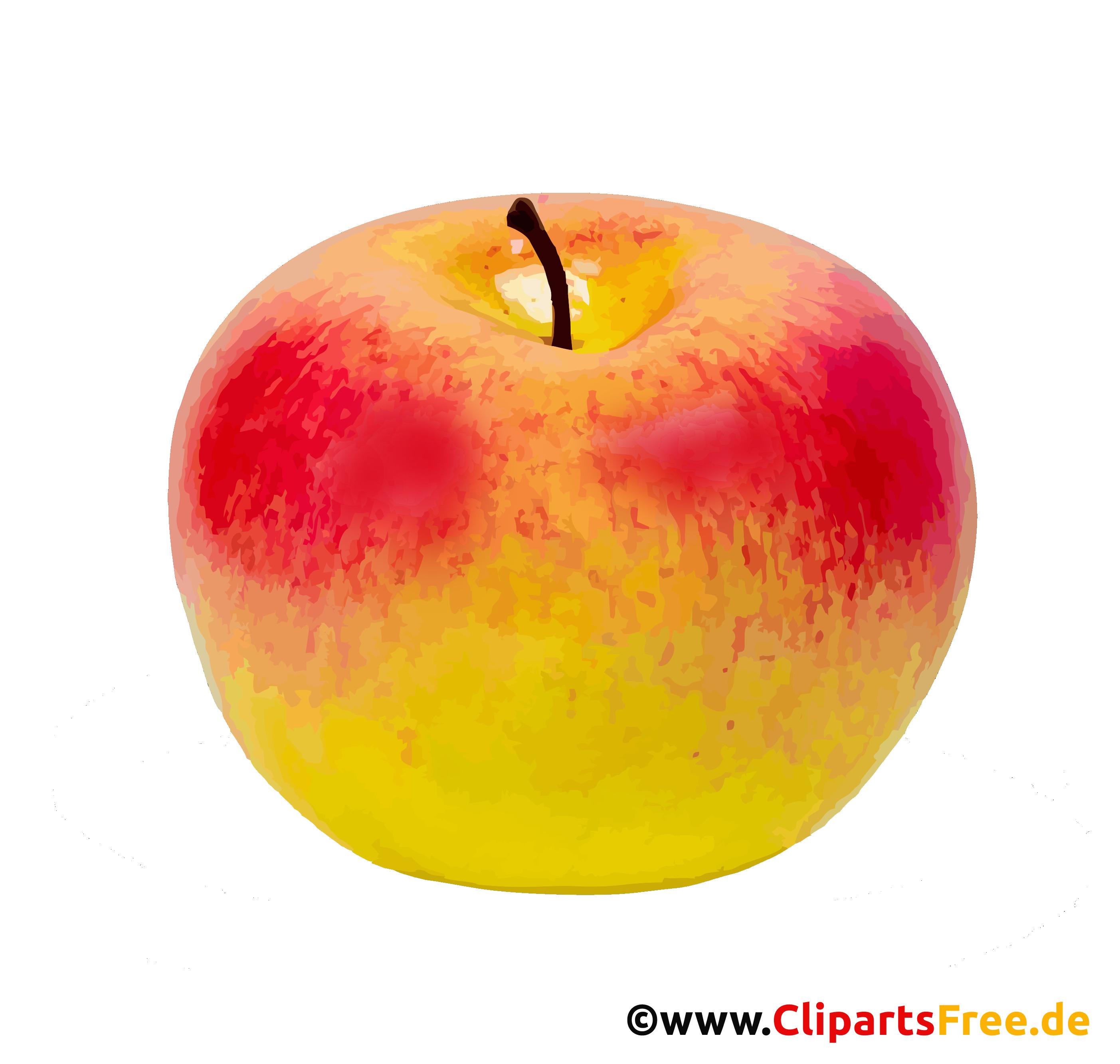Gelber Apfel PNG-Bild - Herbst Bilder kostenlos