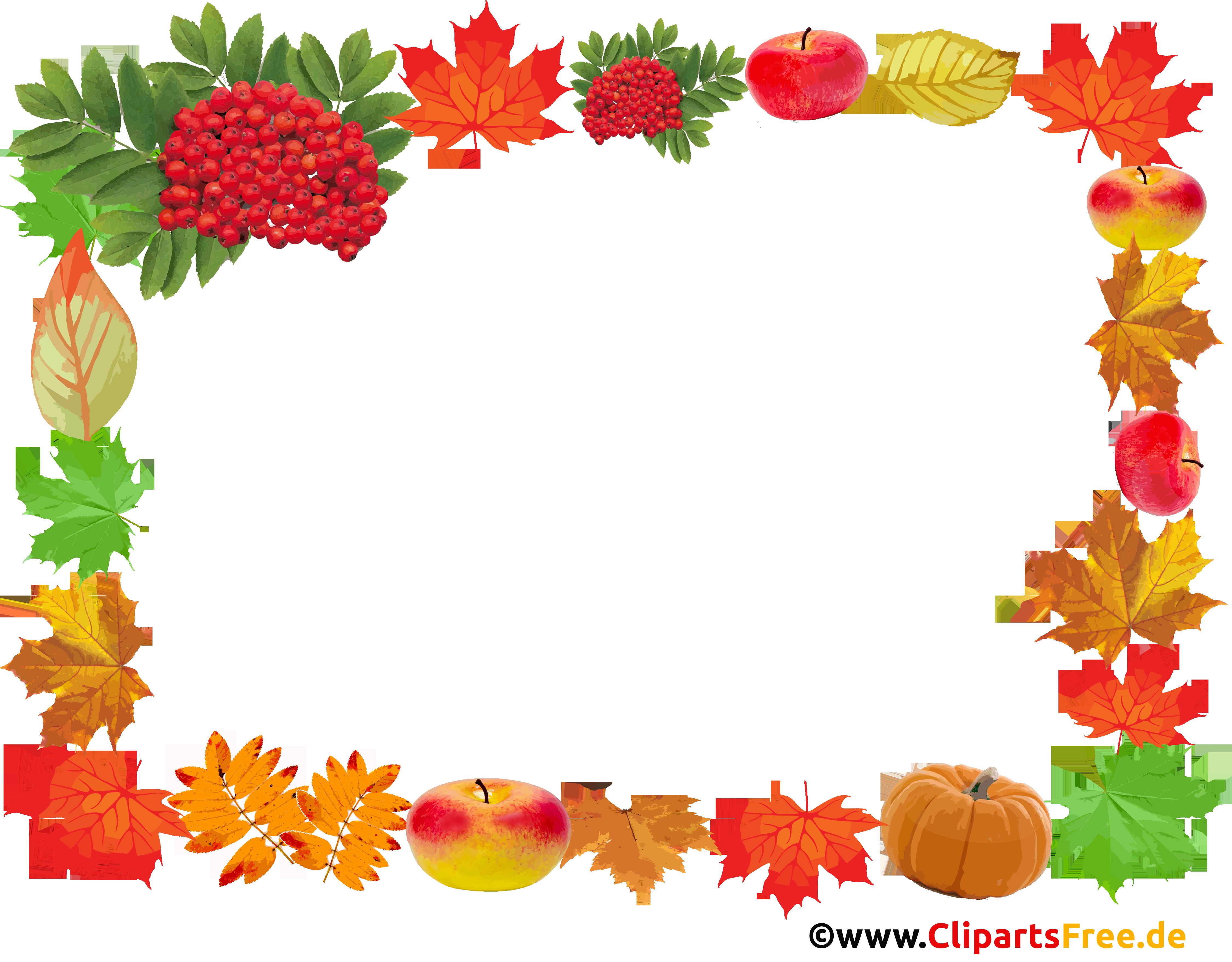 Herbst Fotorahmen, Bildrahmen, Zierrahmen PNG durchsichtigt