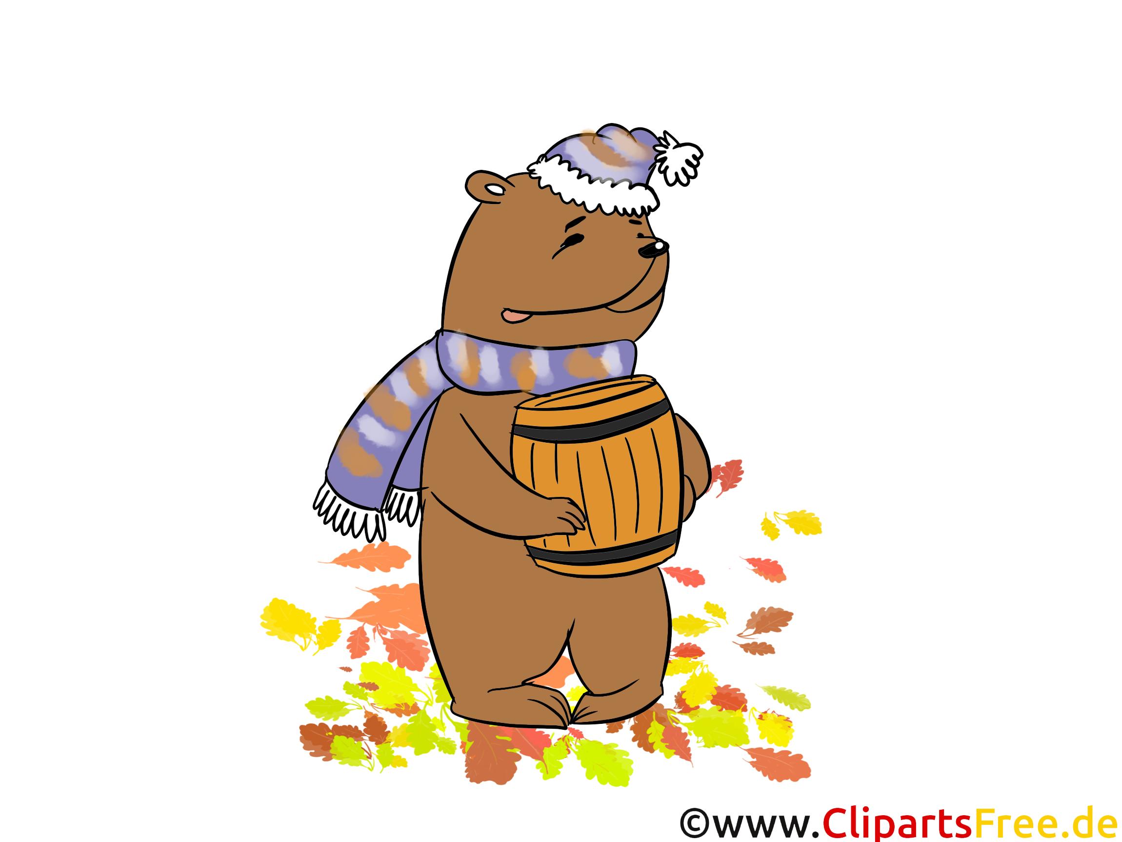 Hochauflösende Bilder kostenlos - Bär mit Honig