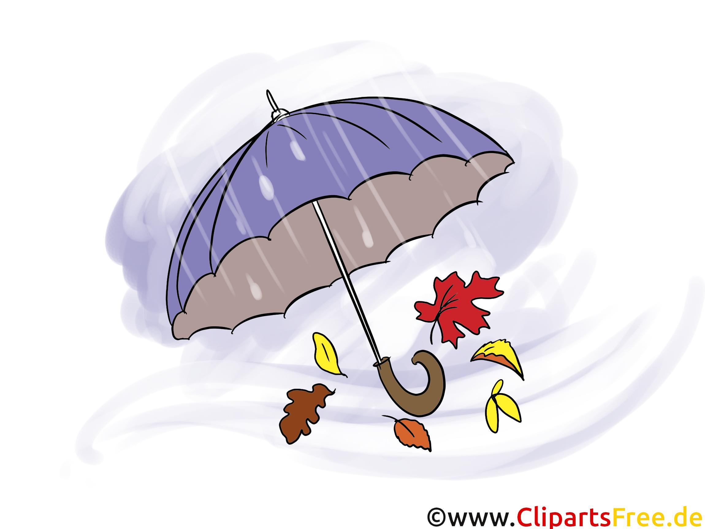 Illustration Regenschirm
