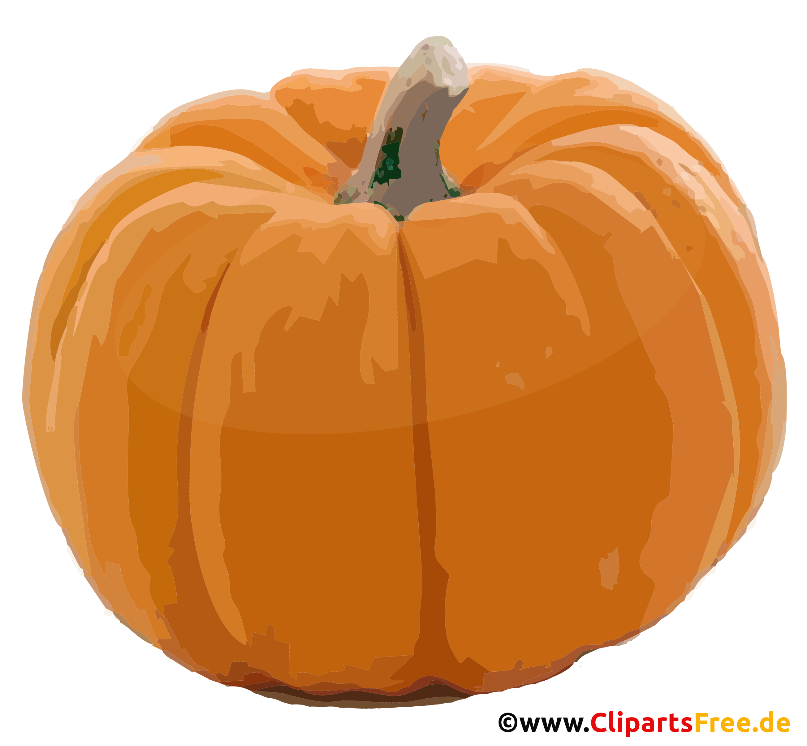 Kürbis Clipart - Herbst Bilder kostenlos