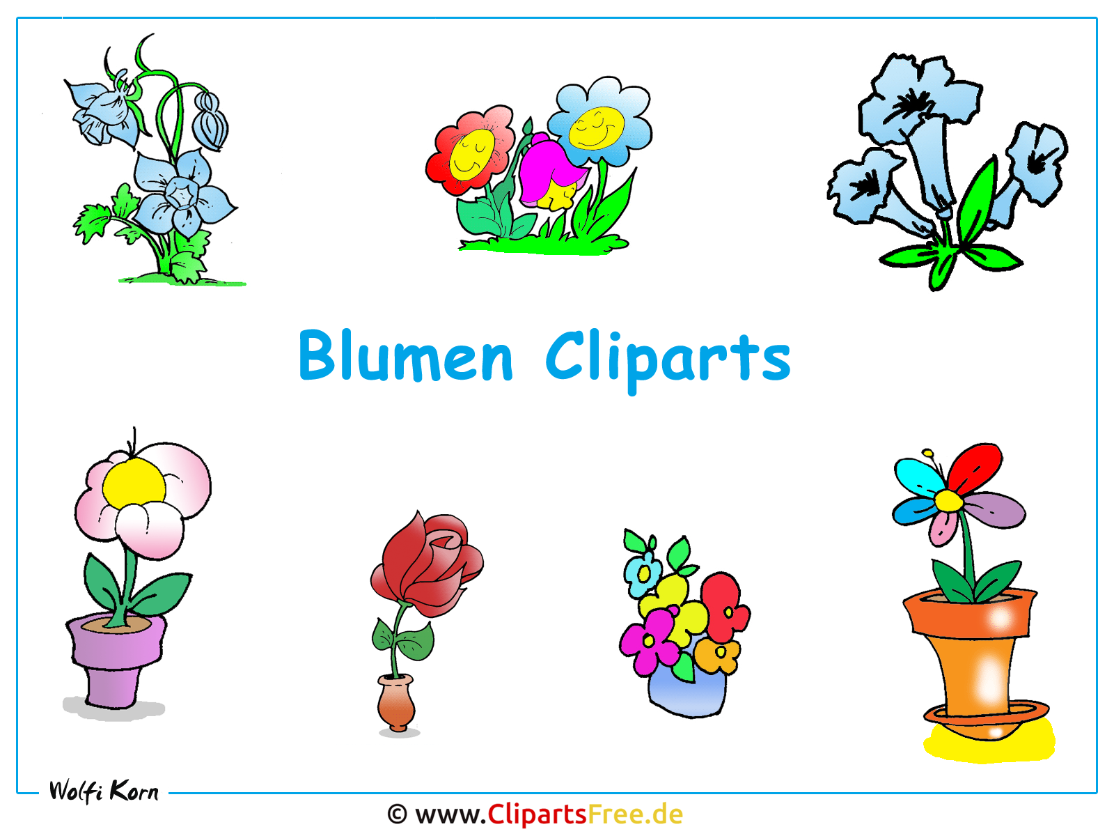 Cliparts blumen hintergrundbild gratis for Clipart gratis download