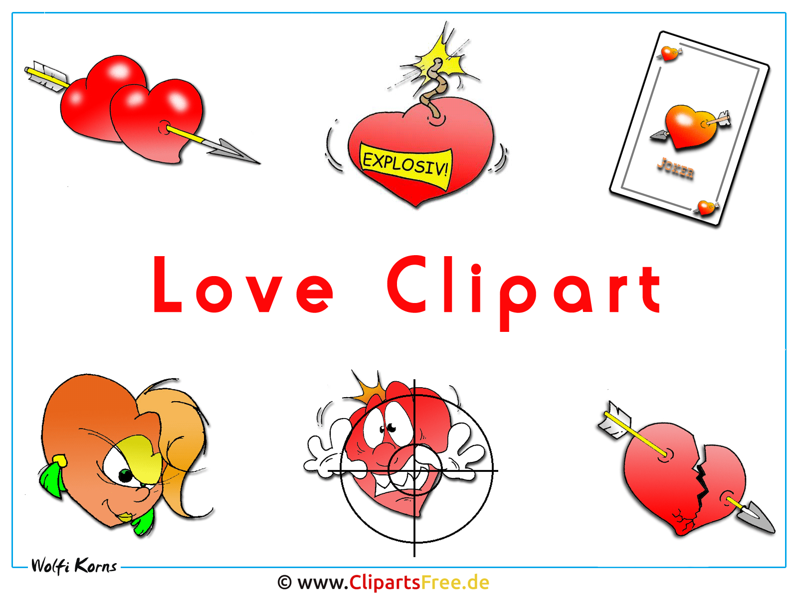 Liebe Clipart Wallpaper free download
