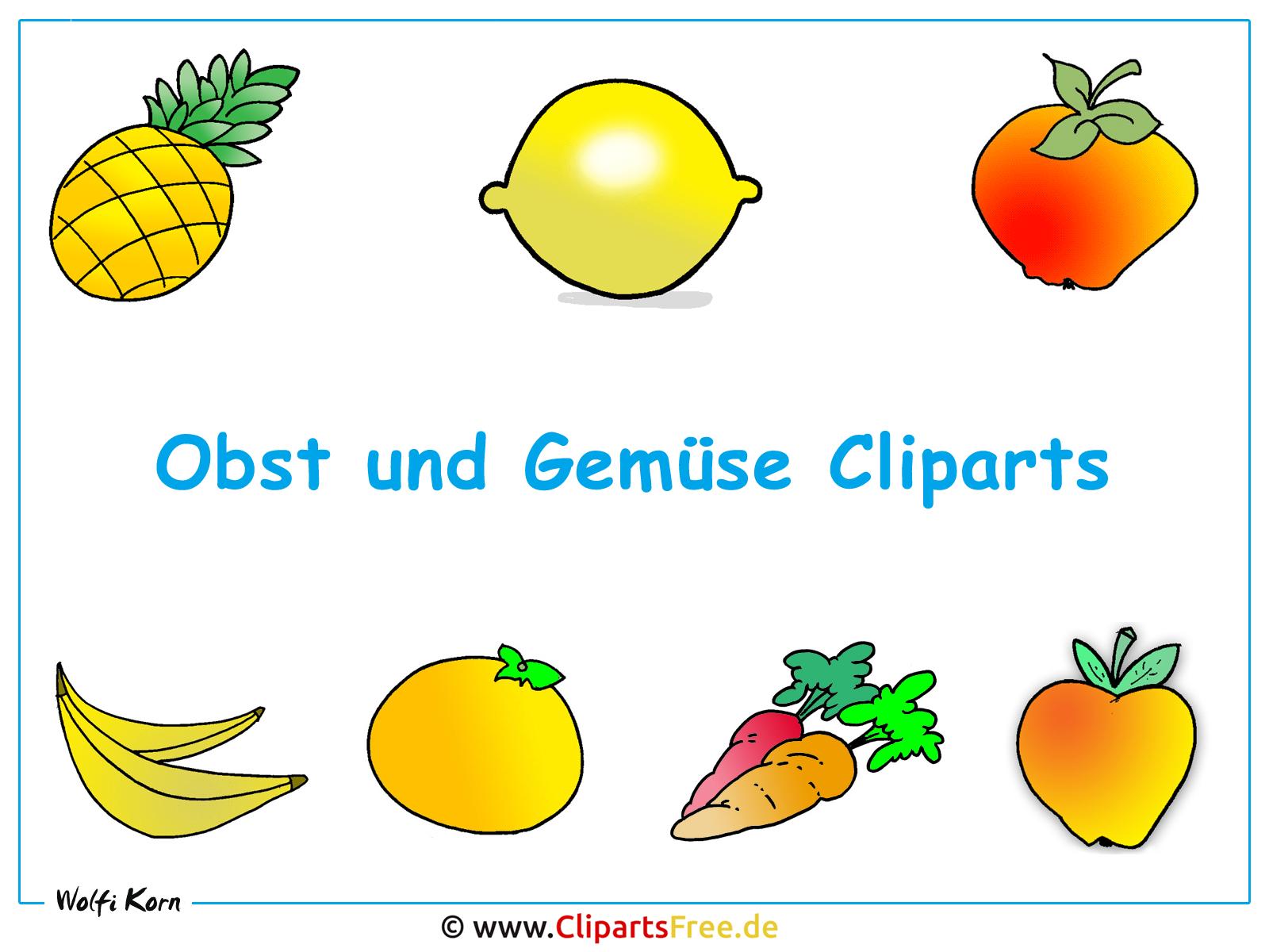 Obst und Gemüse Bilder - Hintergrundbilder kostenlos